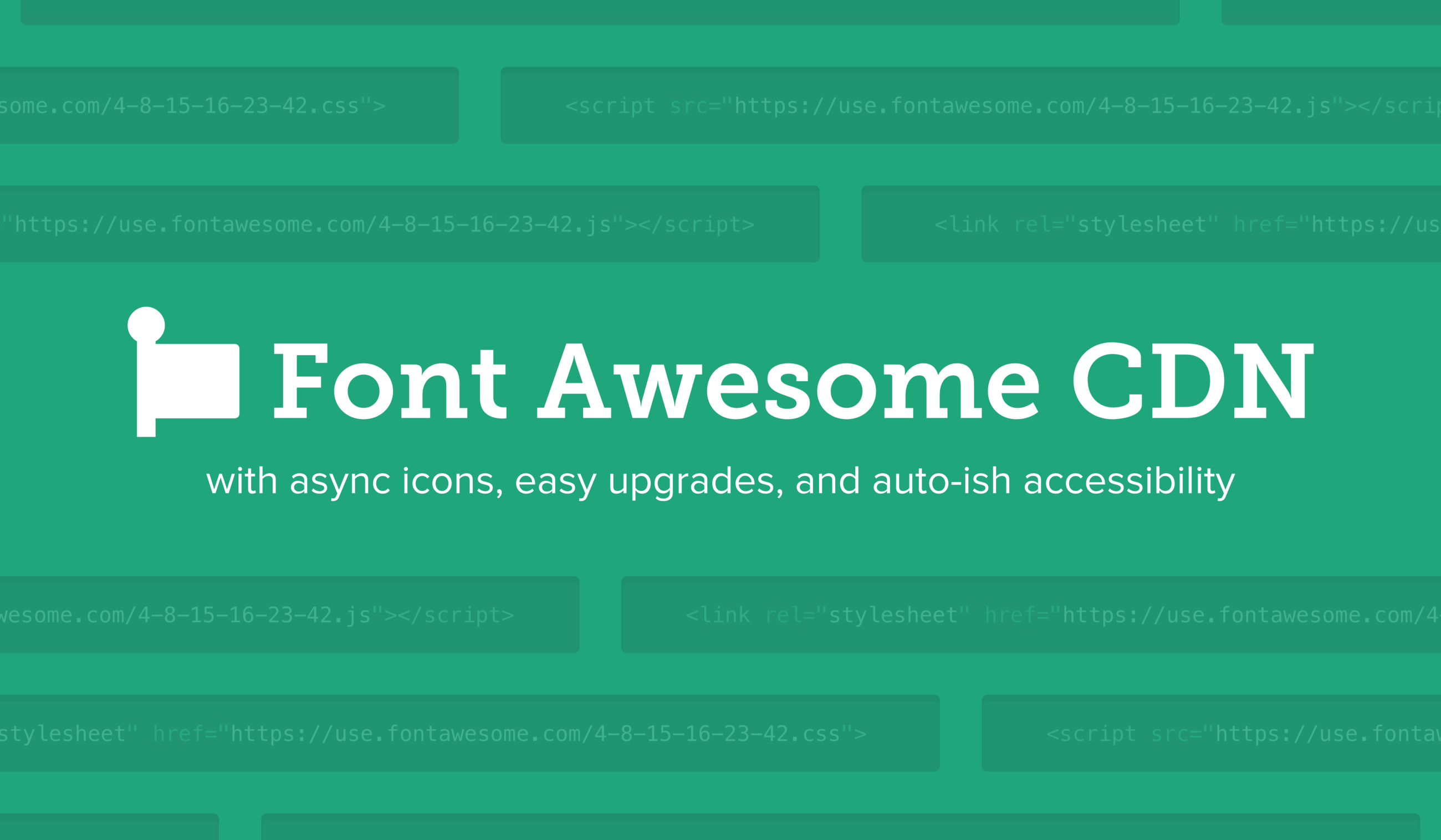 Announcing Font Awesome CDN – Font Awesomeness