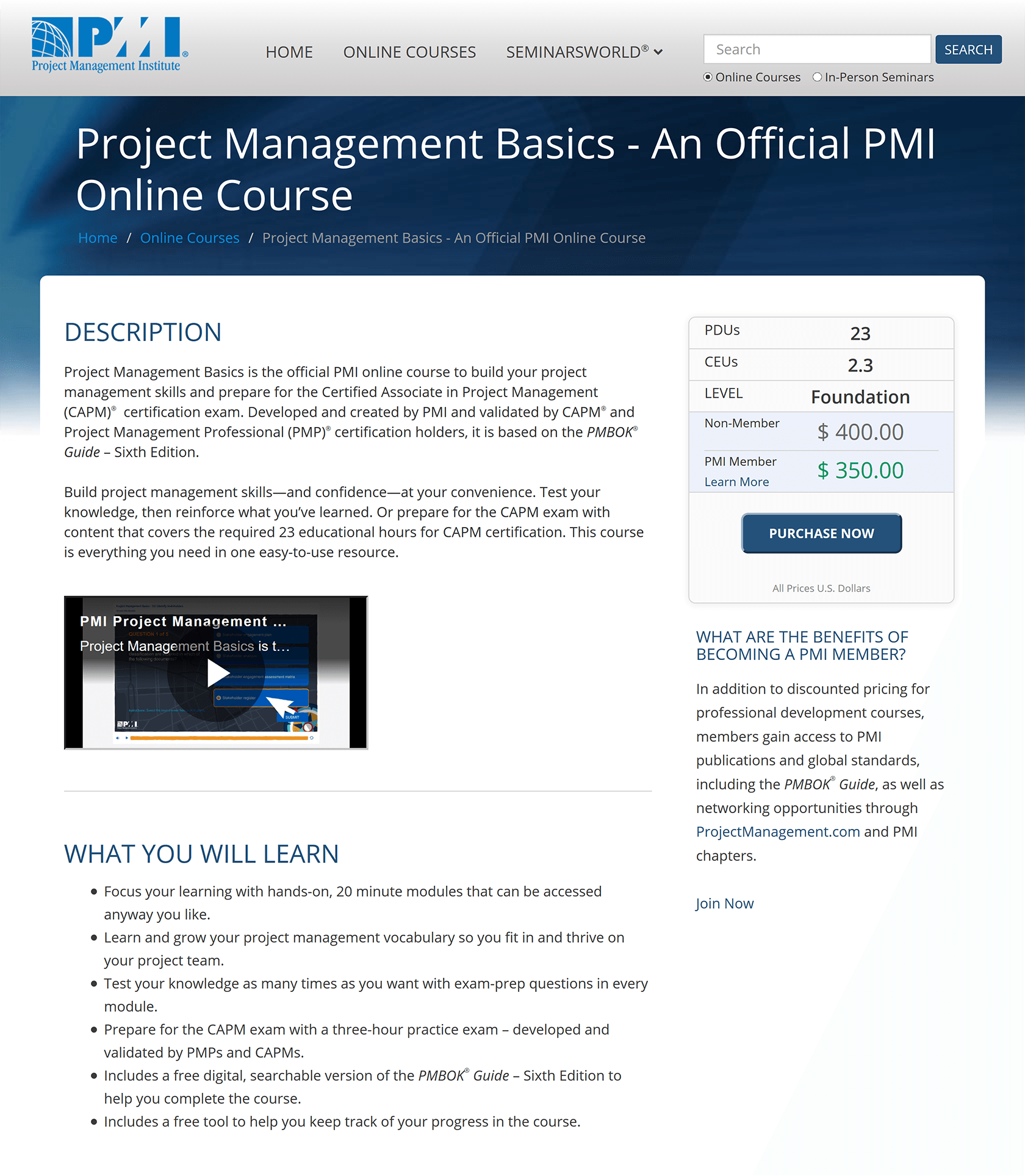 Best Project Management Training Resources For 2019