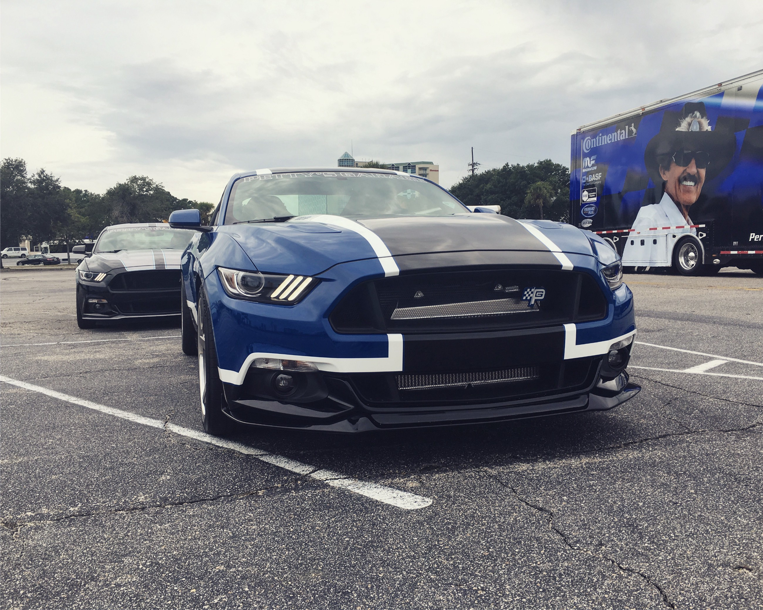 Petty S Garage Makes Its Presence Known During Mustang Week