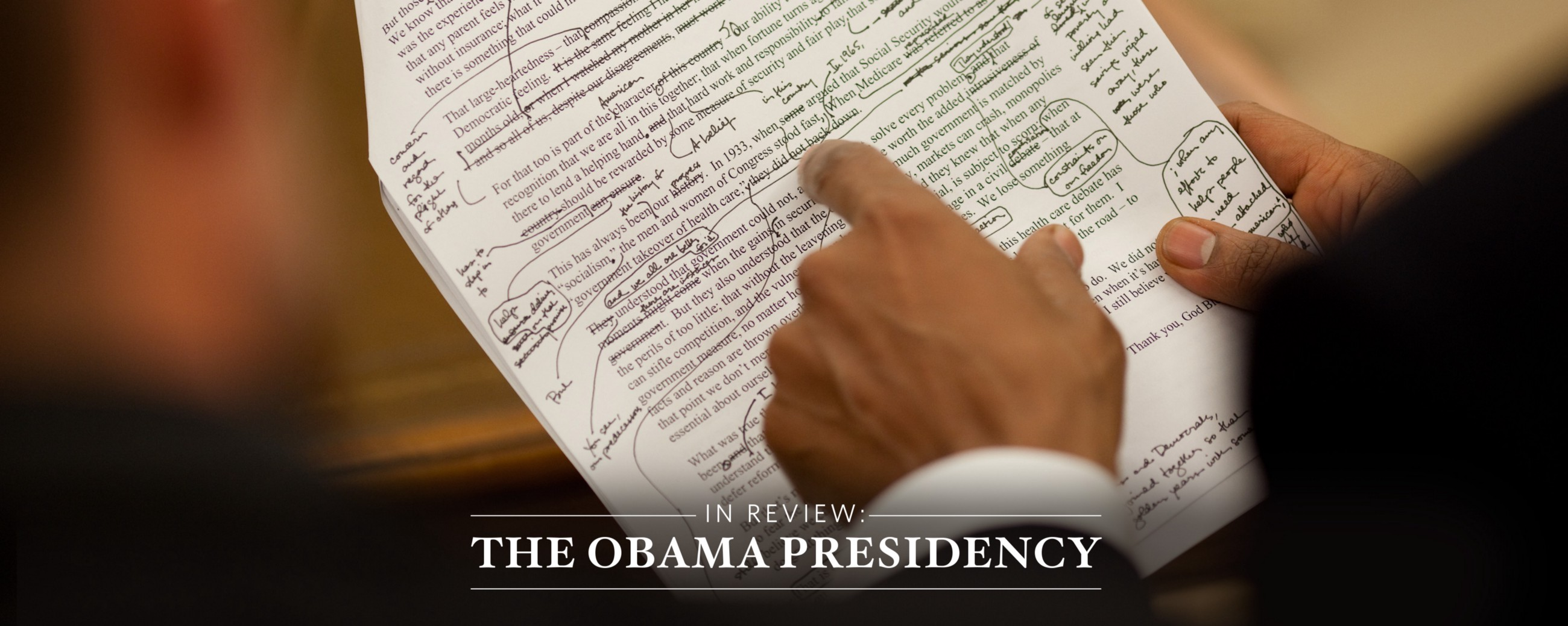 In Review  President Obama s Top Speeches as Chosen by His Speechwriters 12dcbc9b5809