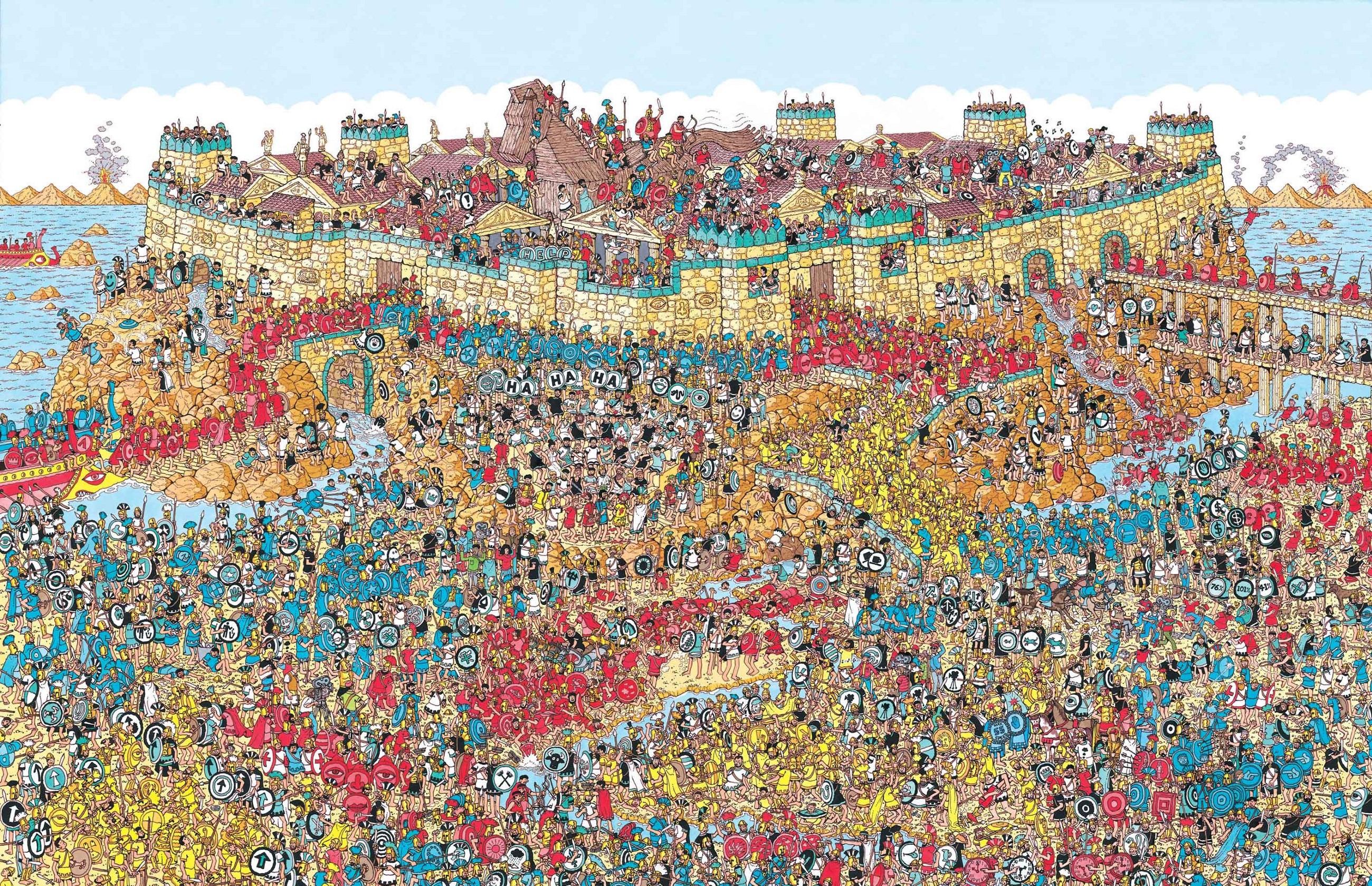 Waar is wally online game