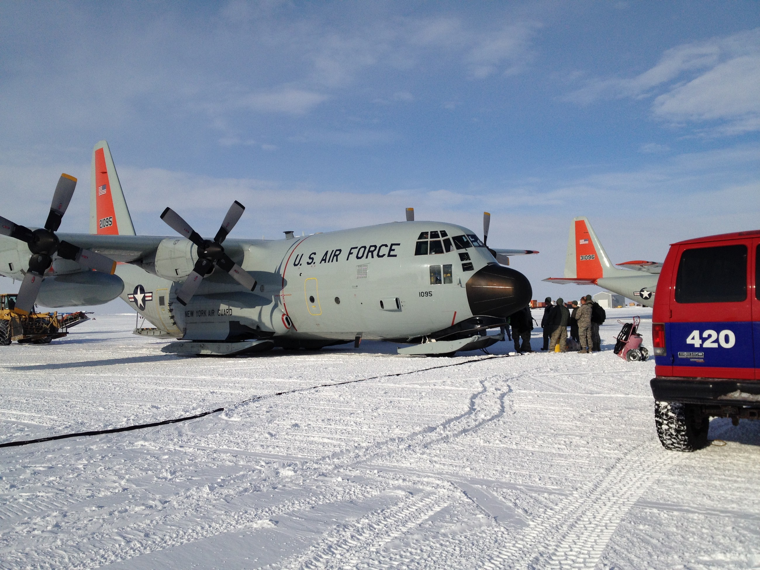 A frozen ocean and plus-sized transportation: Antarctic diary, part II
