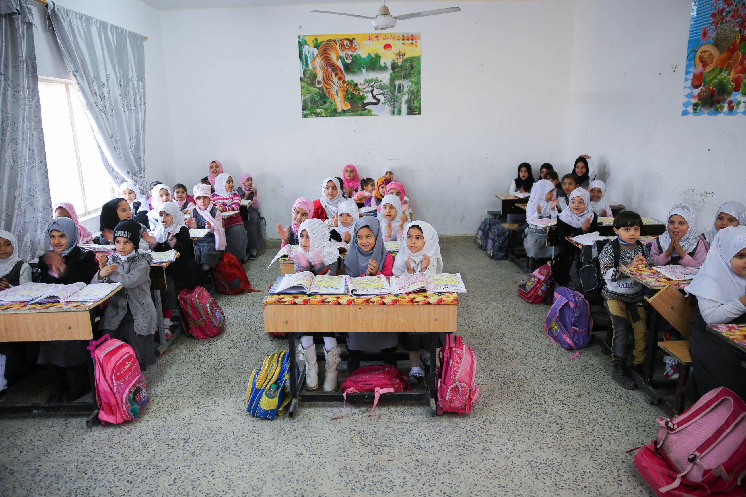 58600f1962 A UNICEF-supported Child Friendly School in Amarah, Missan. ©  UNICEF/Iraq/2015/Anmar