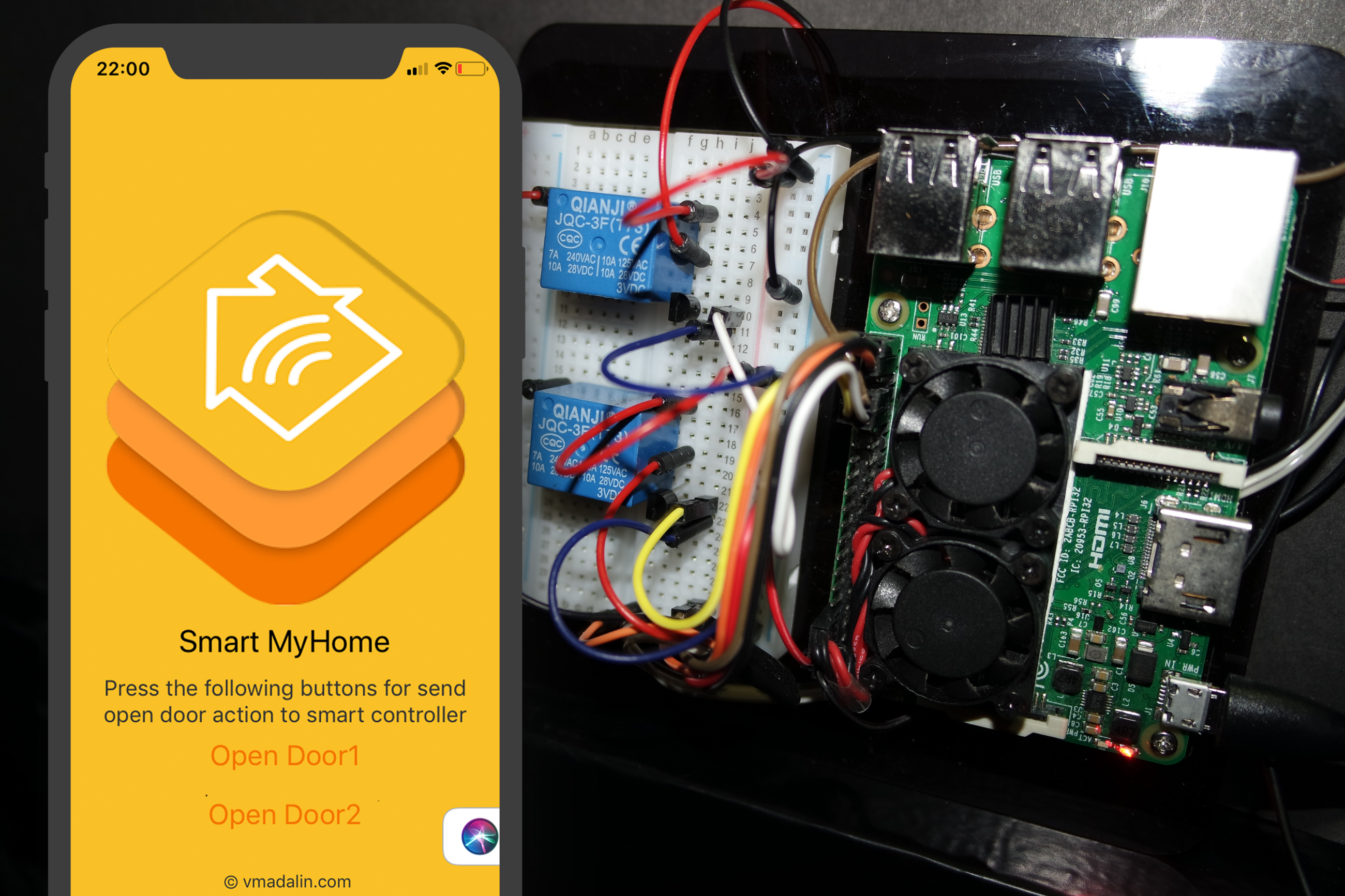 My Smart Home Hacker Noon Clap Switch Circuit For Devices Working And Applications The Mobile Application Electronic Controlled By Raspberry Pi
