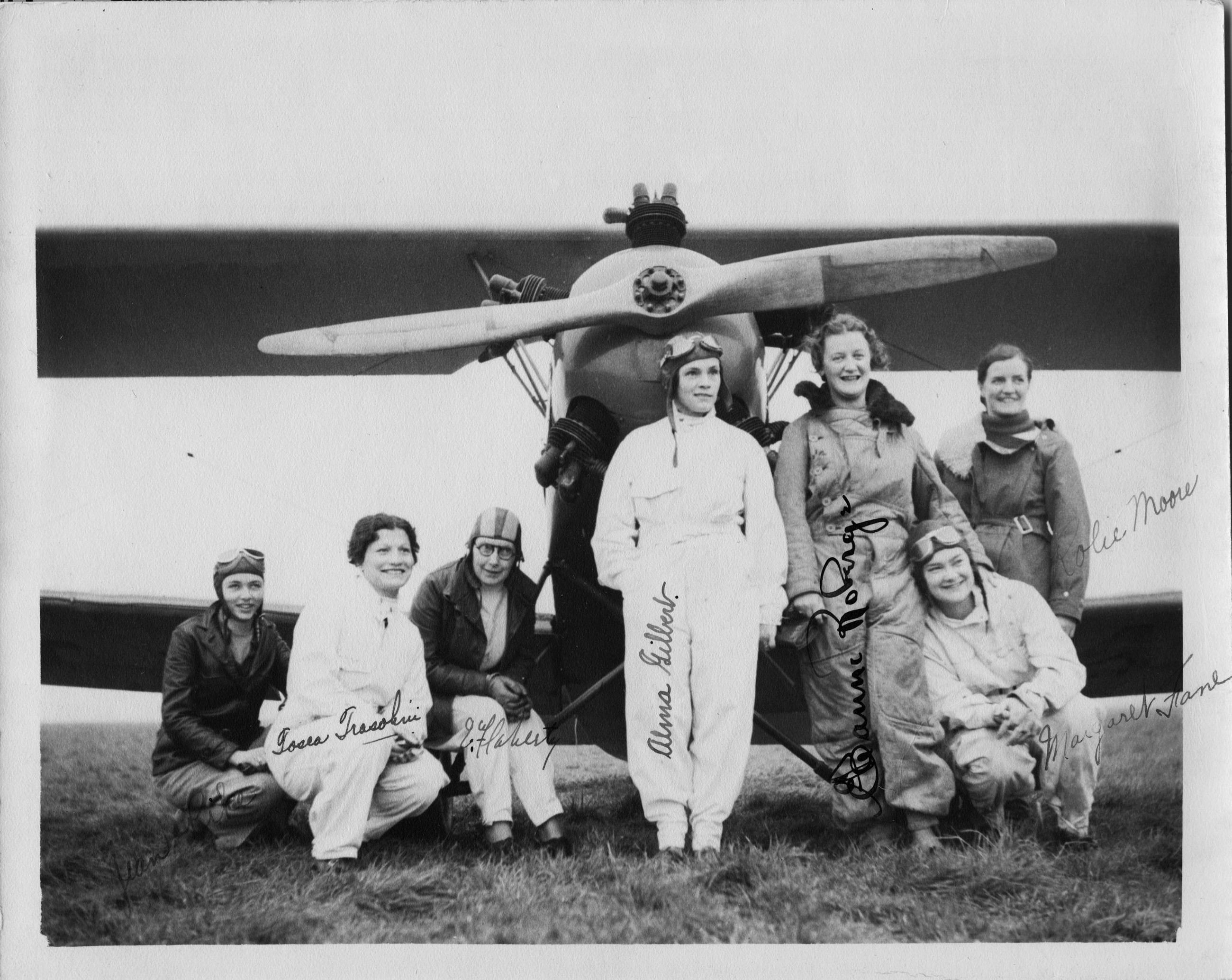 In a World Dominated by Men the Flying Seven Proved That a Woman's Pla