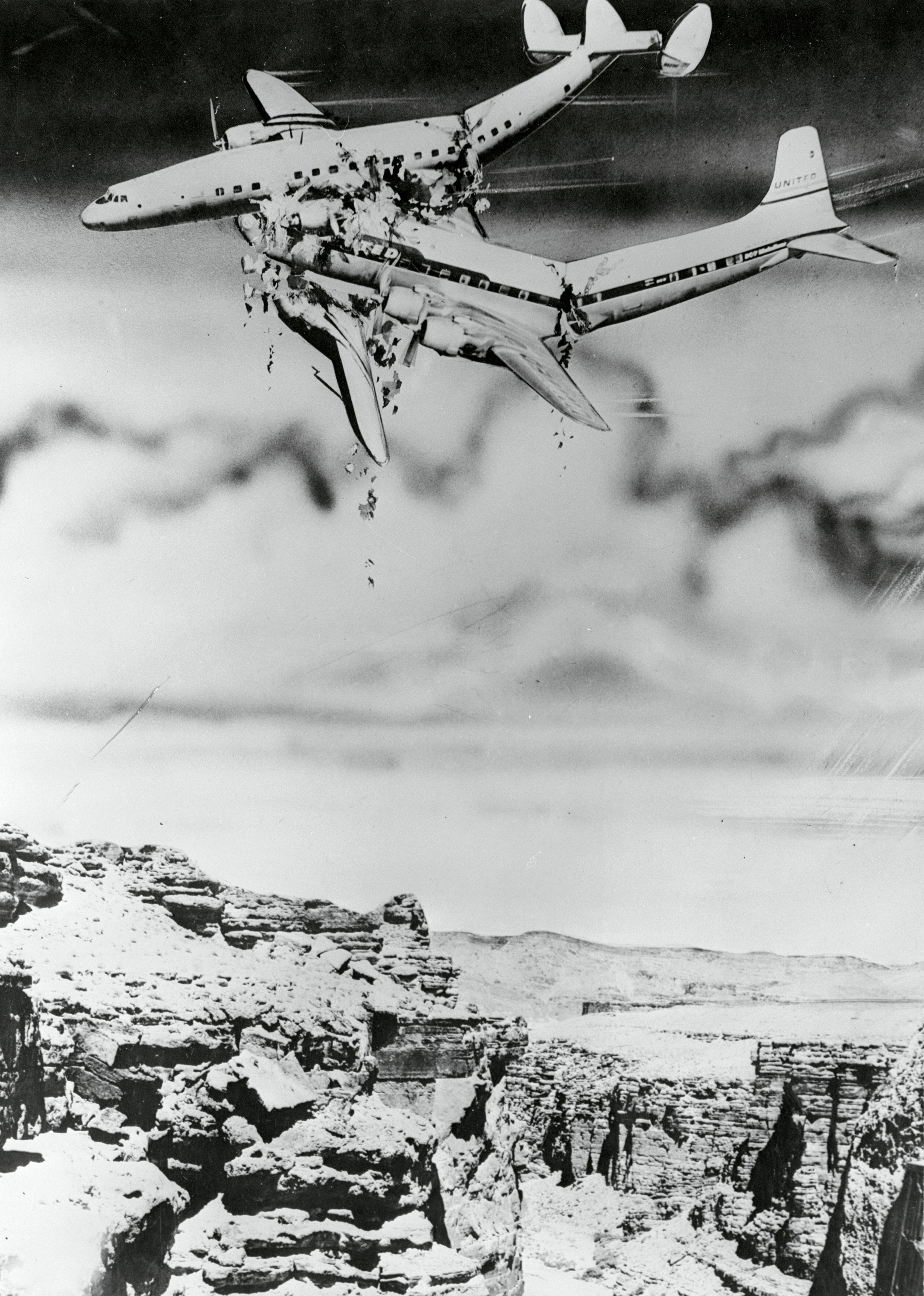 When these two planes collided over the Grand Canyon, it changed aviation history