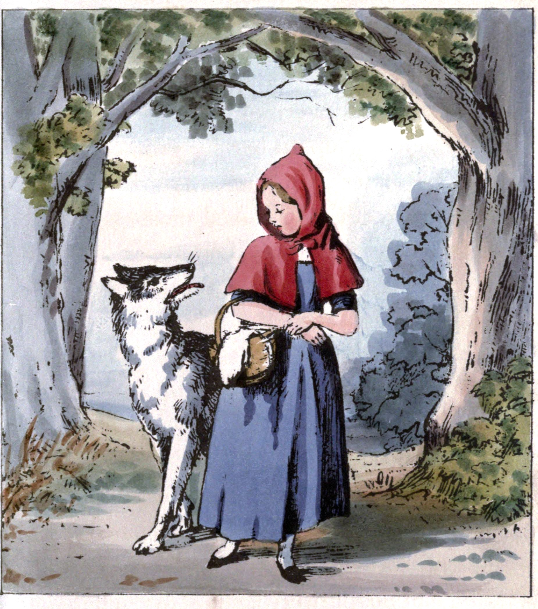 Think, naked lil red riding hood the