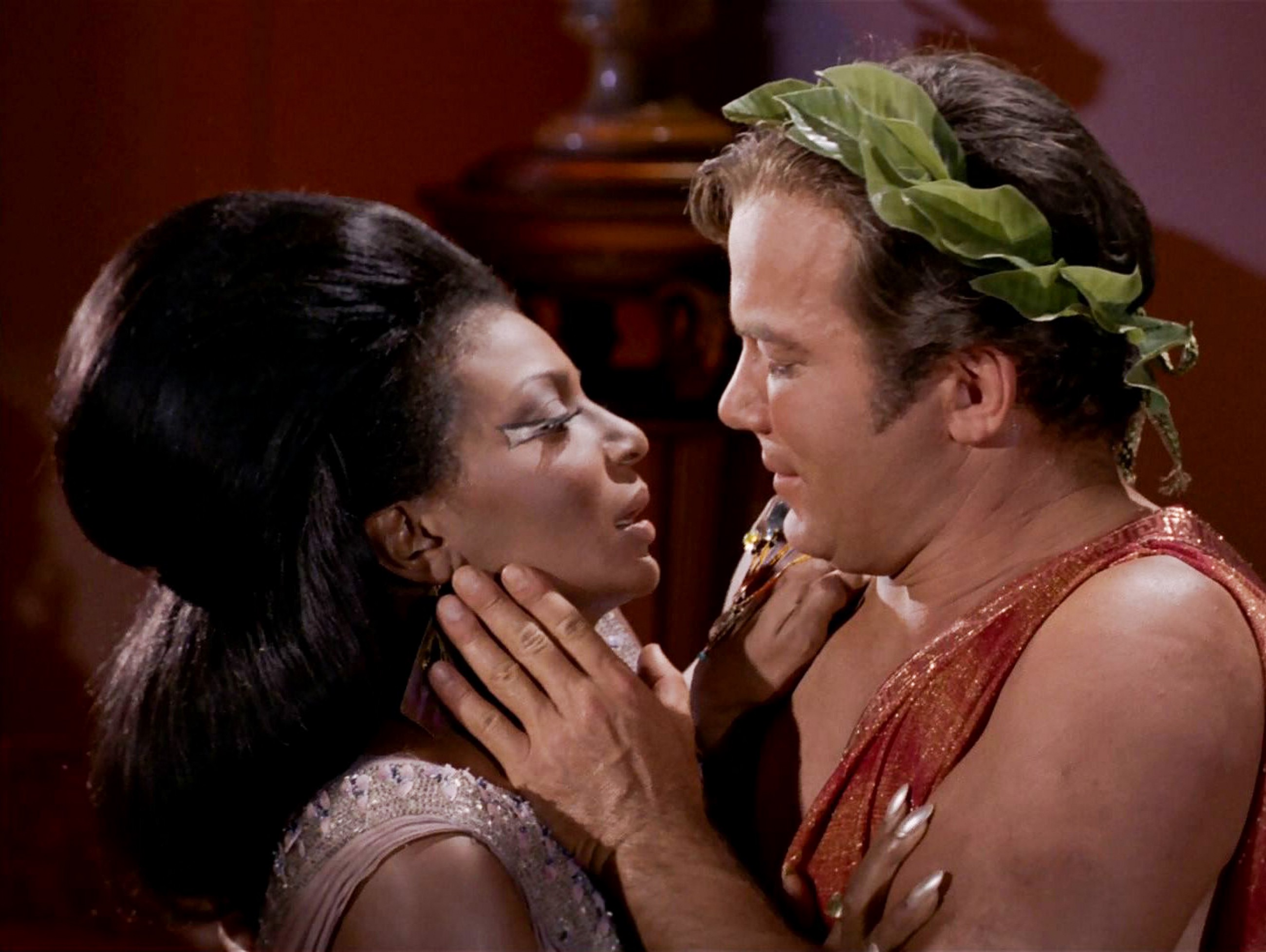 Star Trek's interracial kiss the Deep South almost never saw