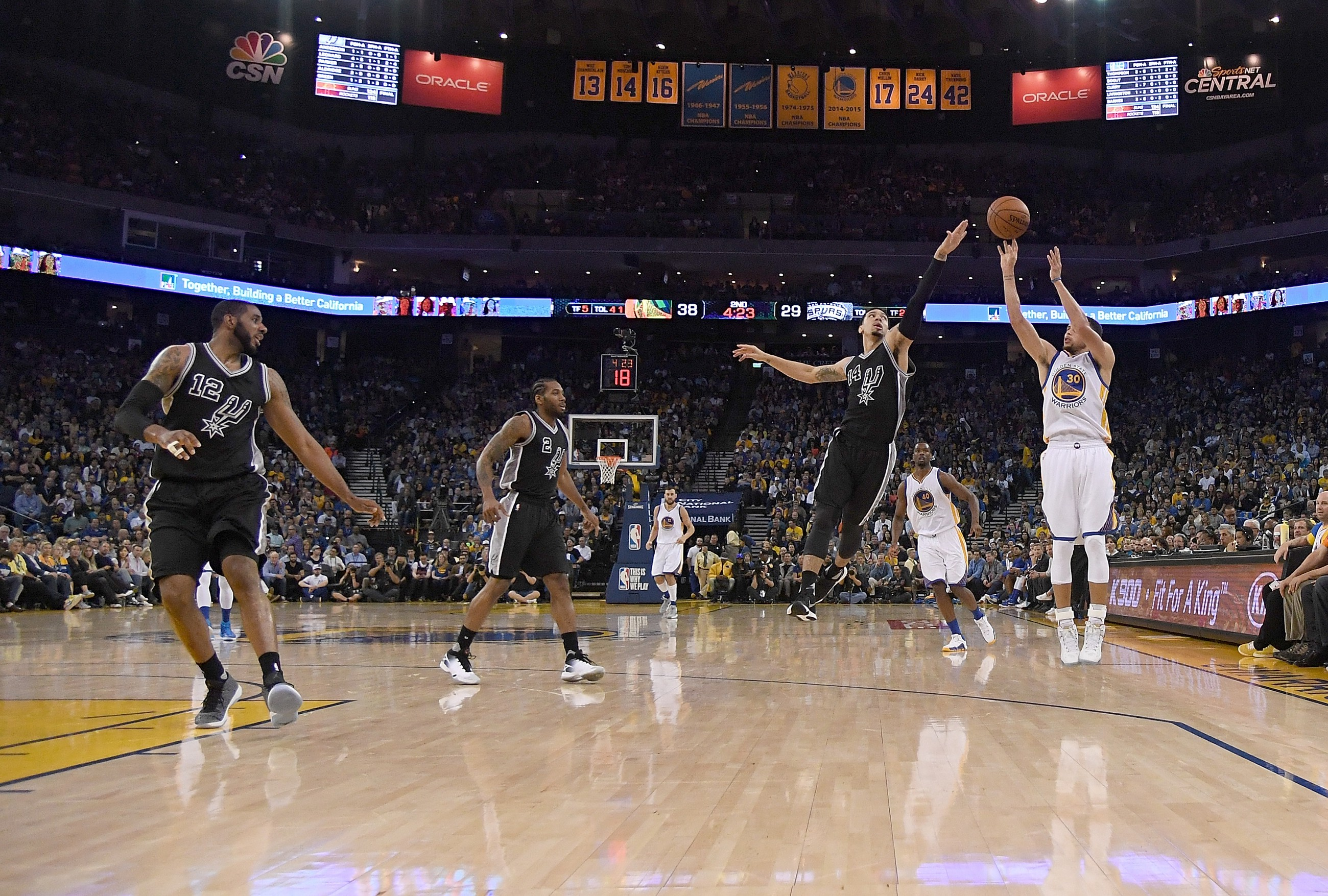 The NBA s love affair with the three pointer  thrilling fans ... 8596615a4e8c