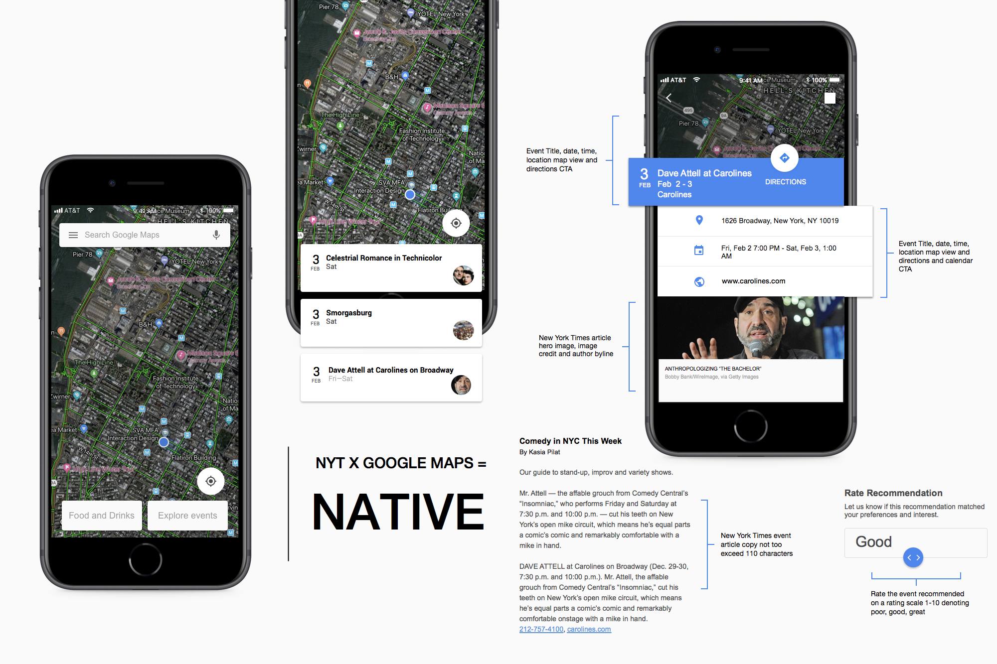 New York Times x Google Maps: UX Case Study