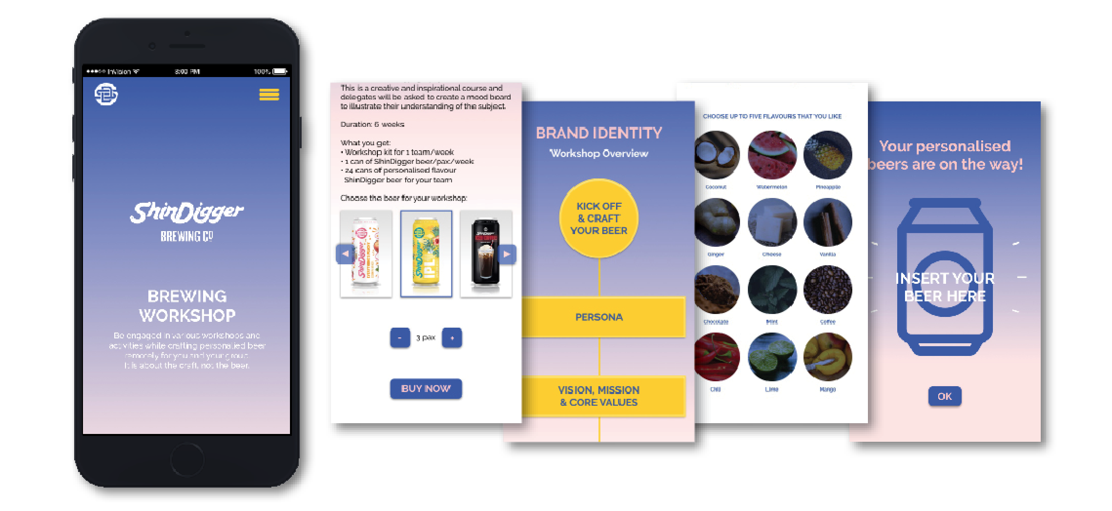 Craft Beer Brewery Brand Experience Design Ux Case Study