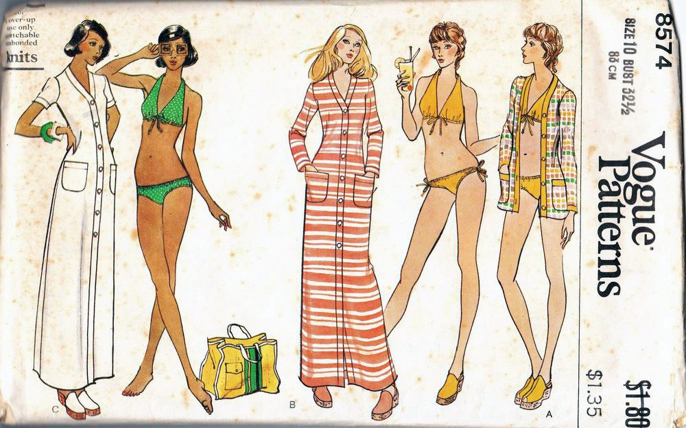 402ffc6345 This collection of vintage bikini patterns will have you wishing for ...