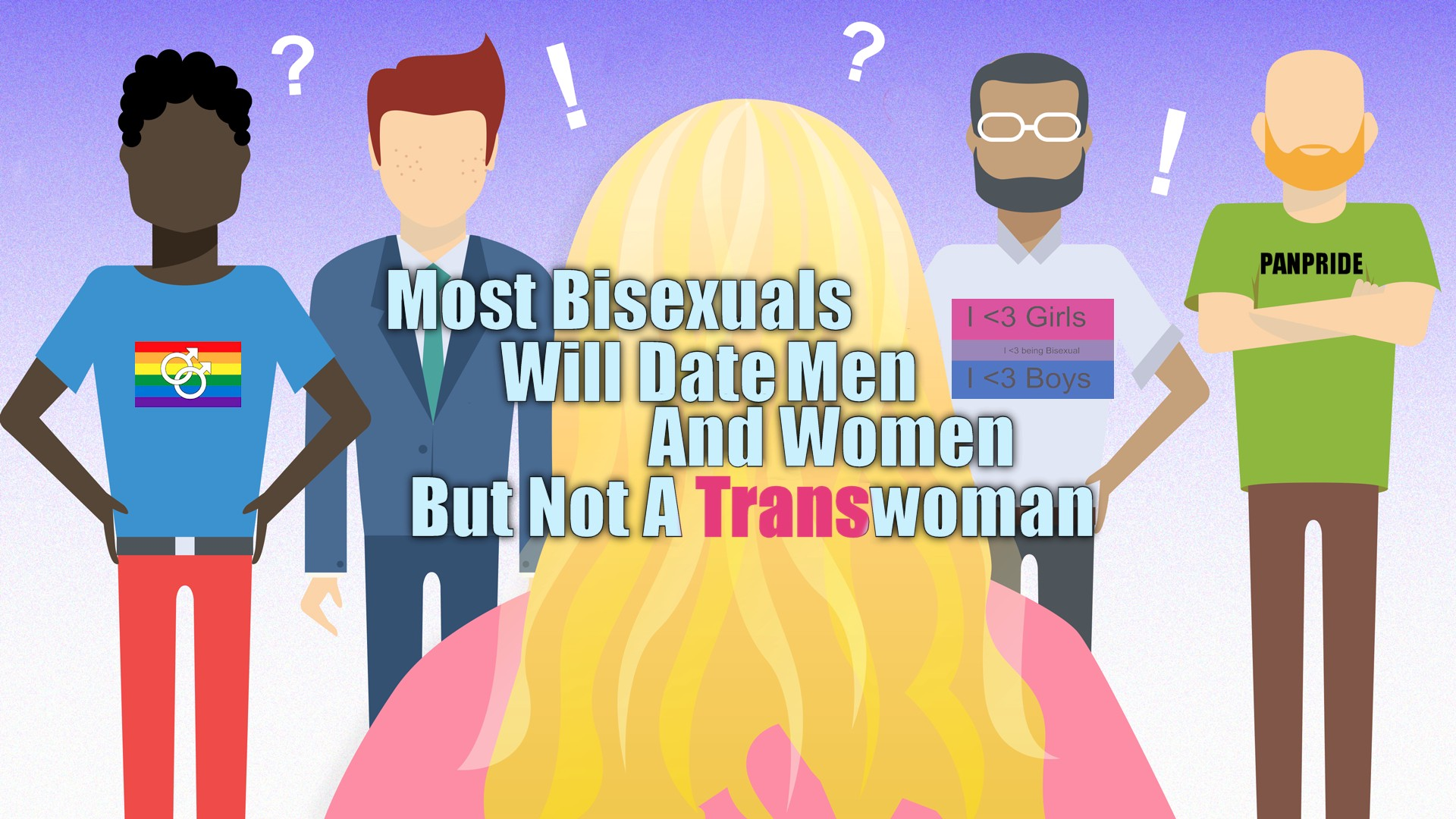 Not find bisexual males think, you