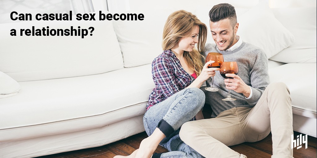 Can hookups turn into relationships