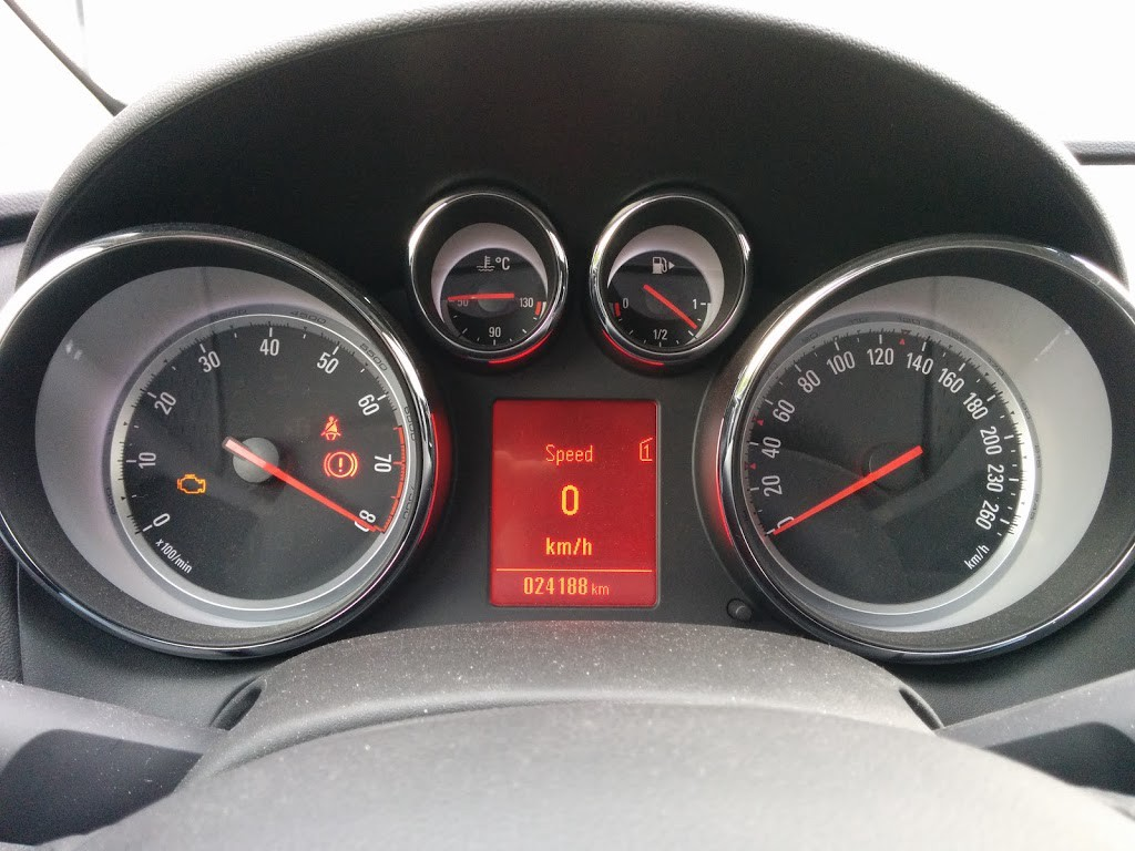 Spoofed Tachometer The Engine Isnt Running