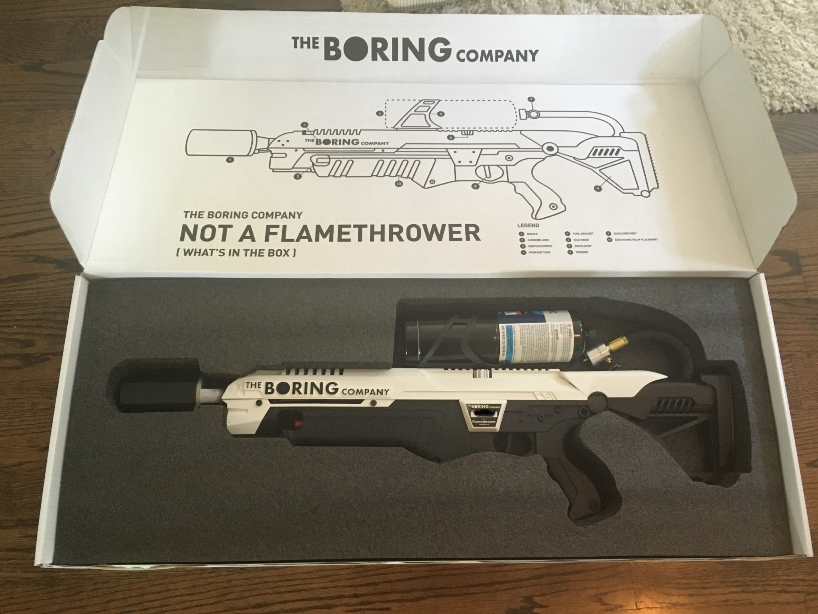 the boring company flamethrower pickup party in d c. Black Bedroom Furniture Sets. Home Design Ideas