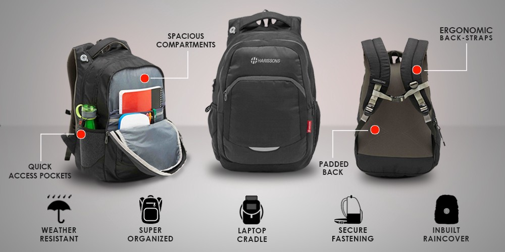 589c57119b 5 Essential Features To Look For In A Laptop Bag – Harissons Bags – Medium