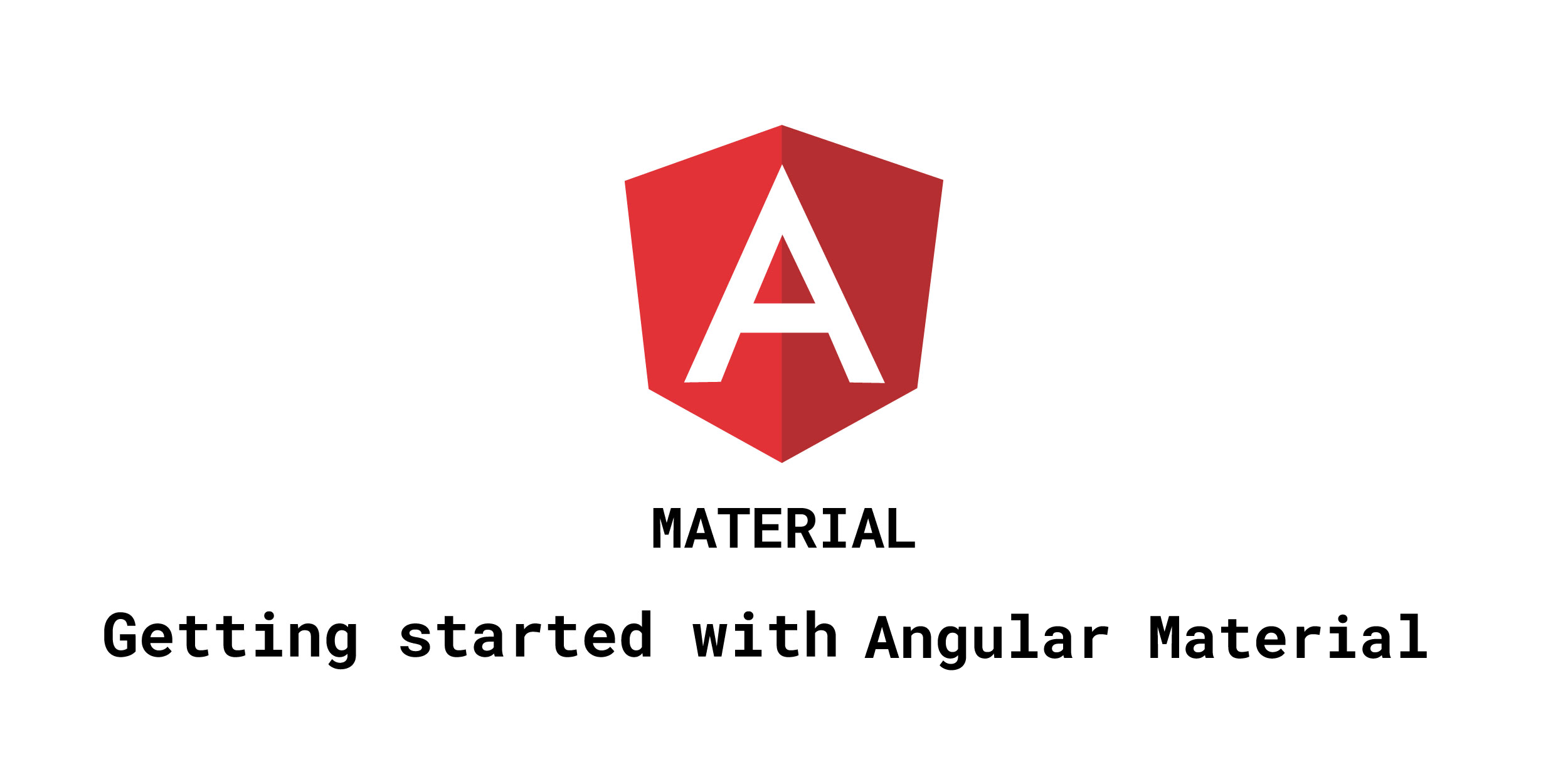 Install angular material angular cdk and angular animations | Peatix