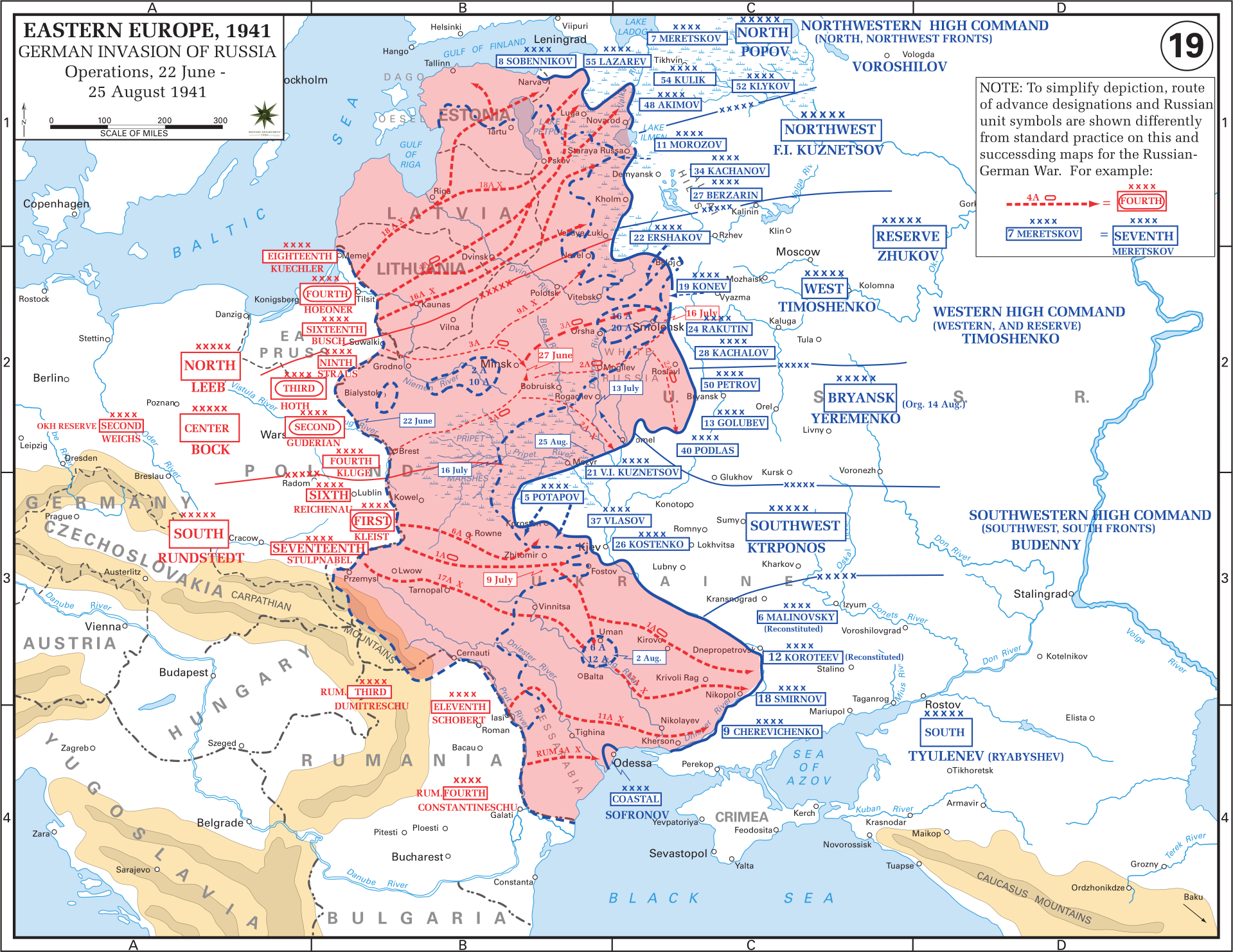 Map Of Germany 1942.Eastern Front Maps Of World War Ii Inflab Medium