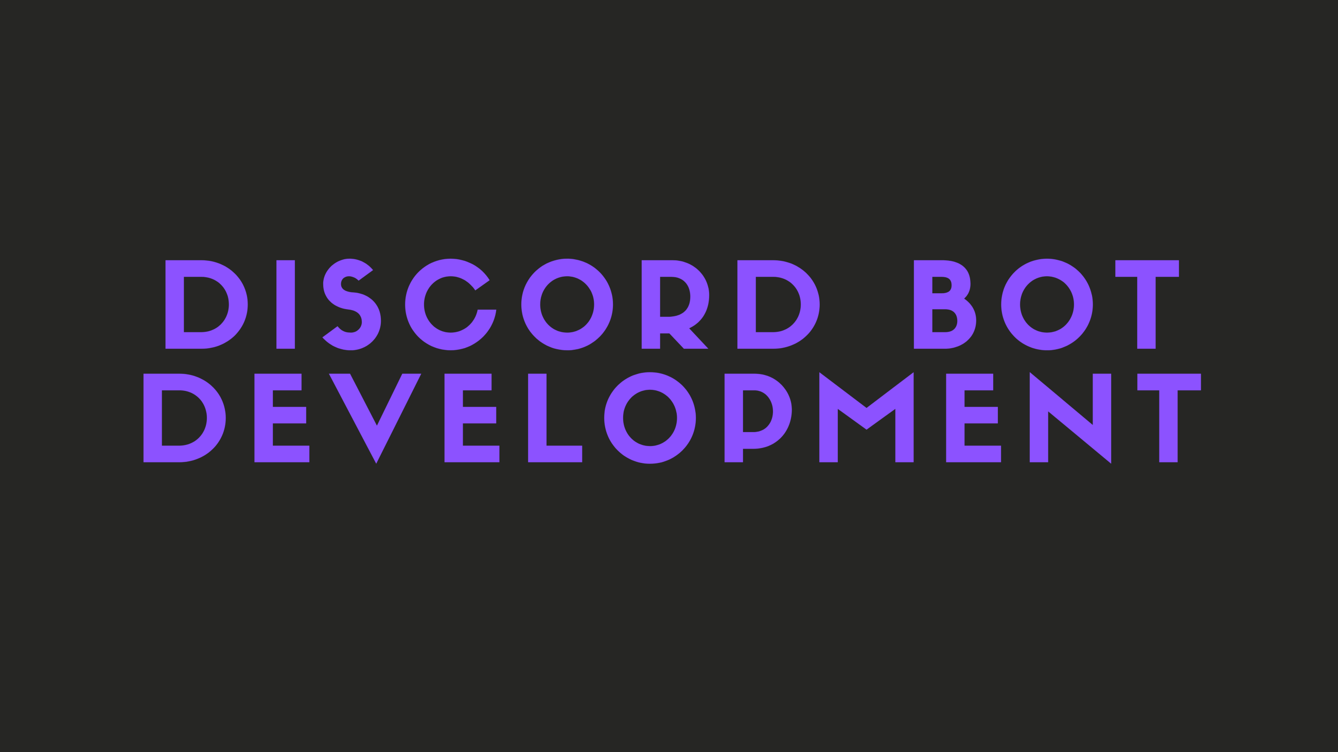 Getting Started with Discord Bot Development