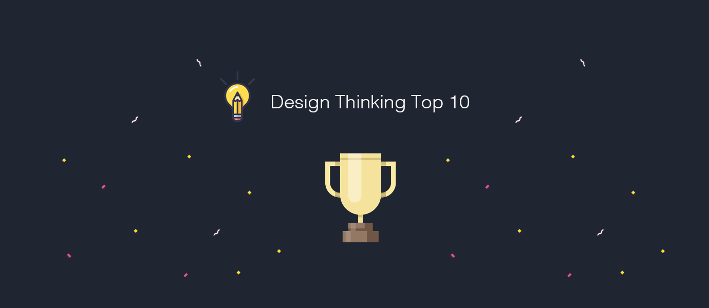 Design Thinking Top 10 for the past month
