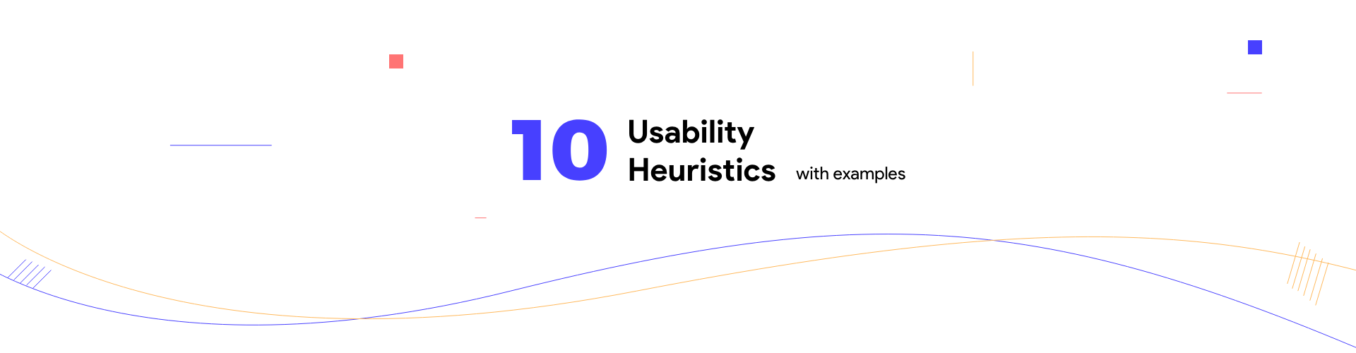 10 usability heuristics with examples