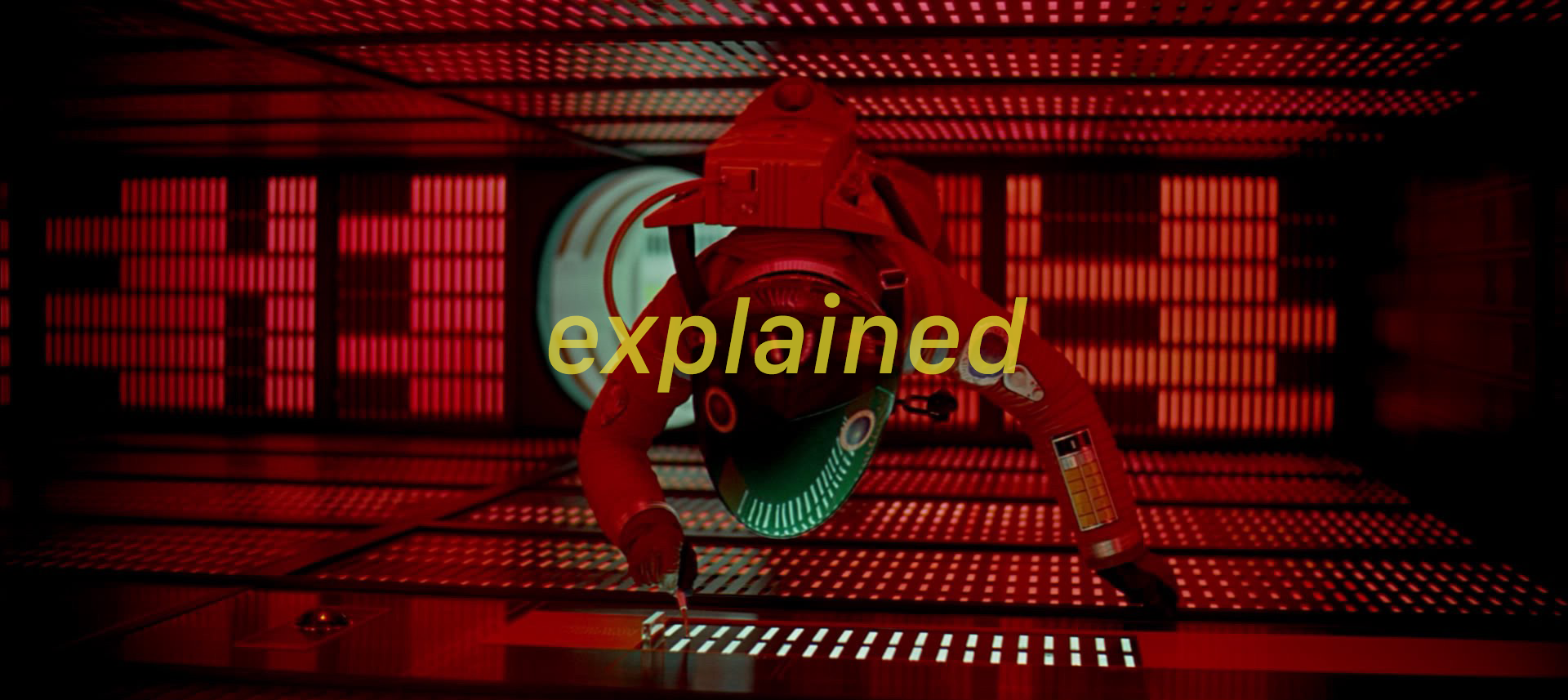 2001 a space odyssey explained