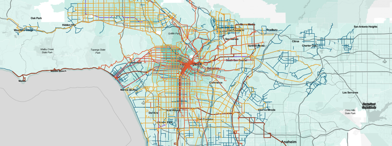 How Public Transit Can Thrive In Car Obsessed Cities