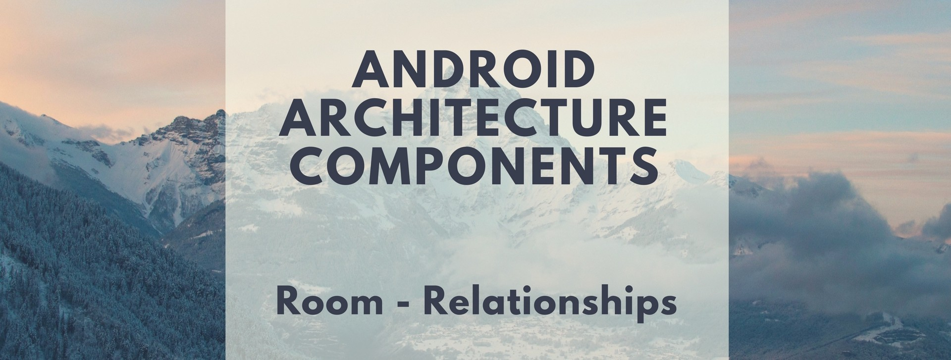 android room database tutorial