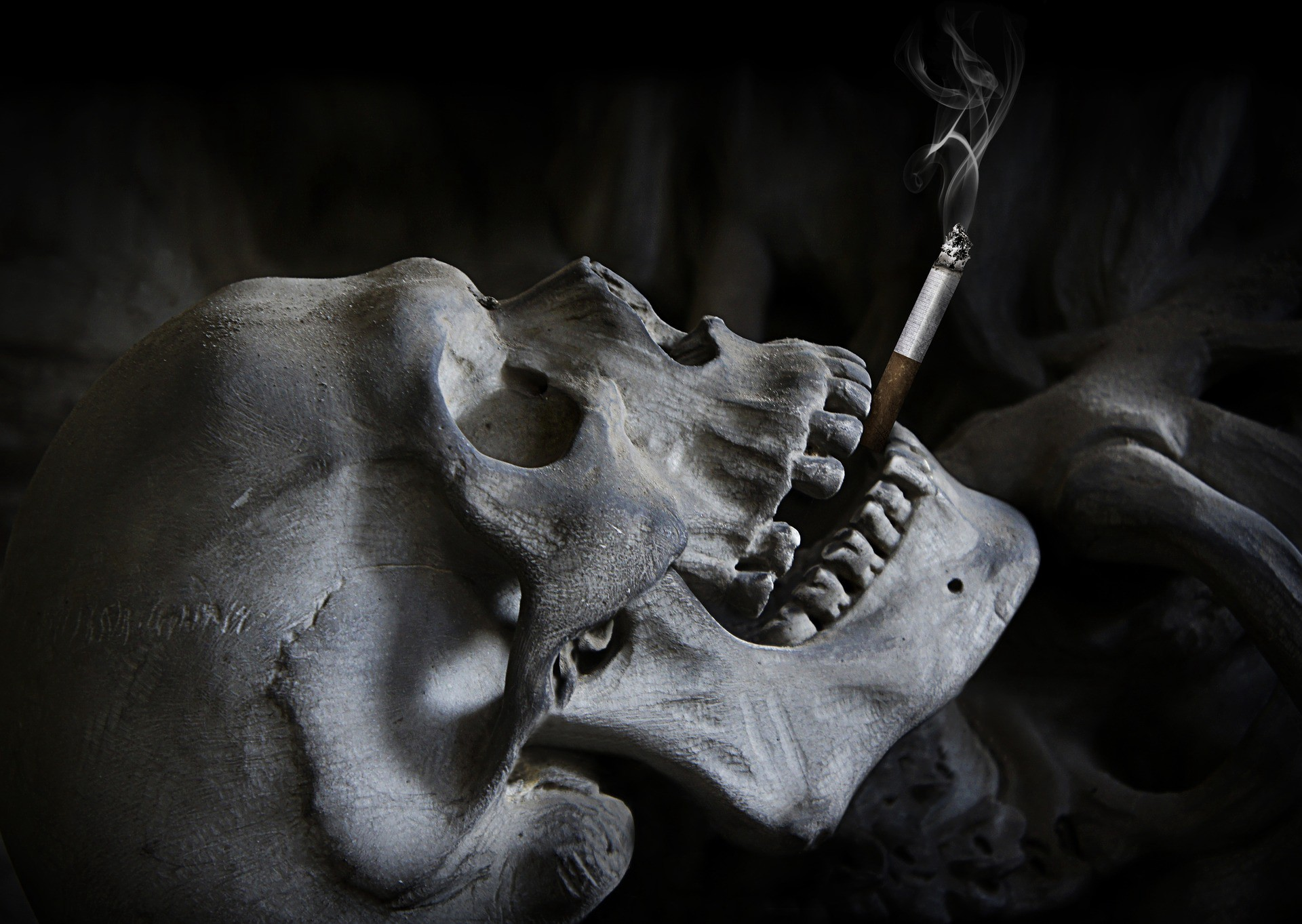 Smoking kills but not in the way you think it does
