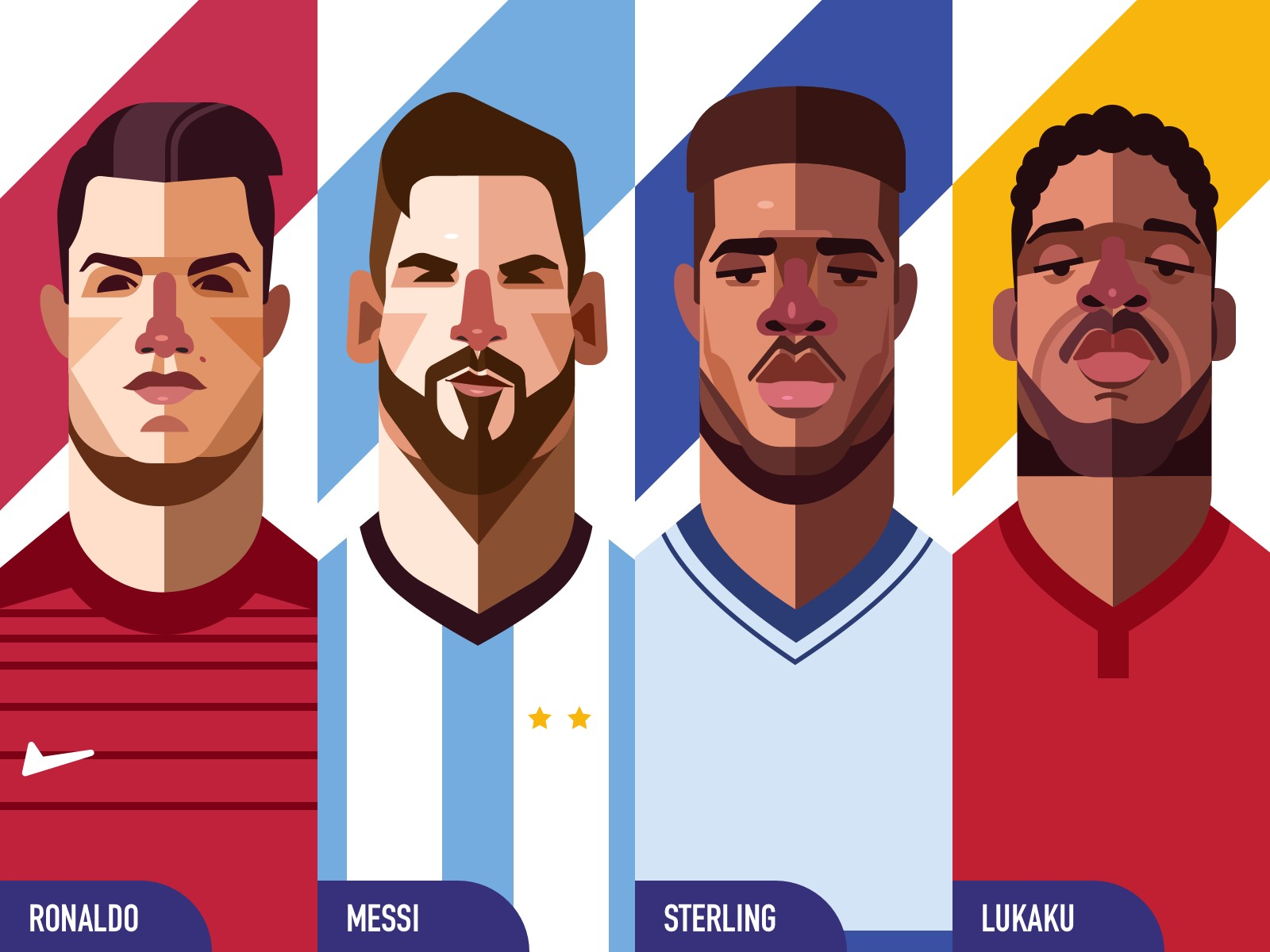How To Create Character Illustrations 2018 World Cup Edition