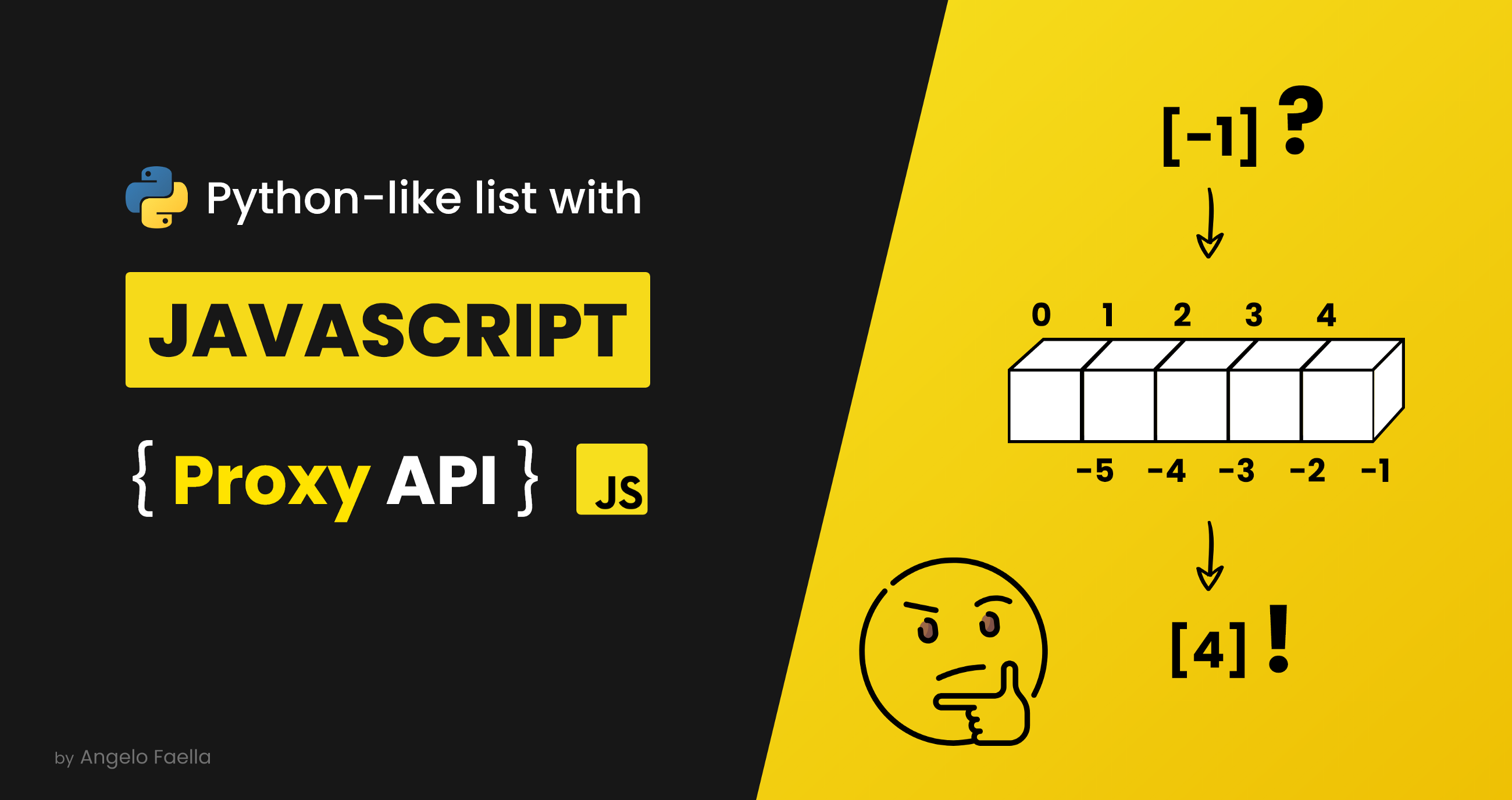 Bringing Python Lists to JavaScript With Proxy API