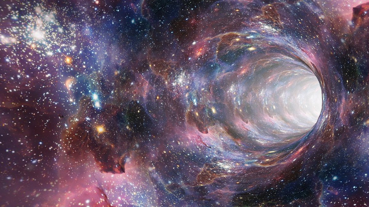 Are There Wormholes At The Black Holes Core?