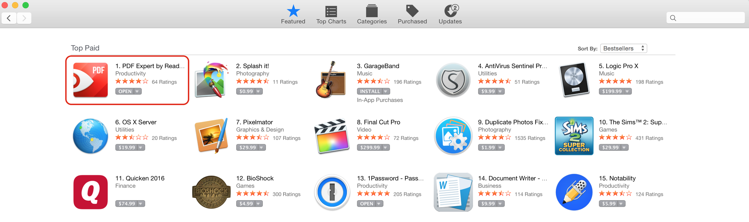 top paid mac finance apps
