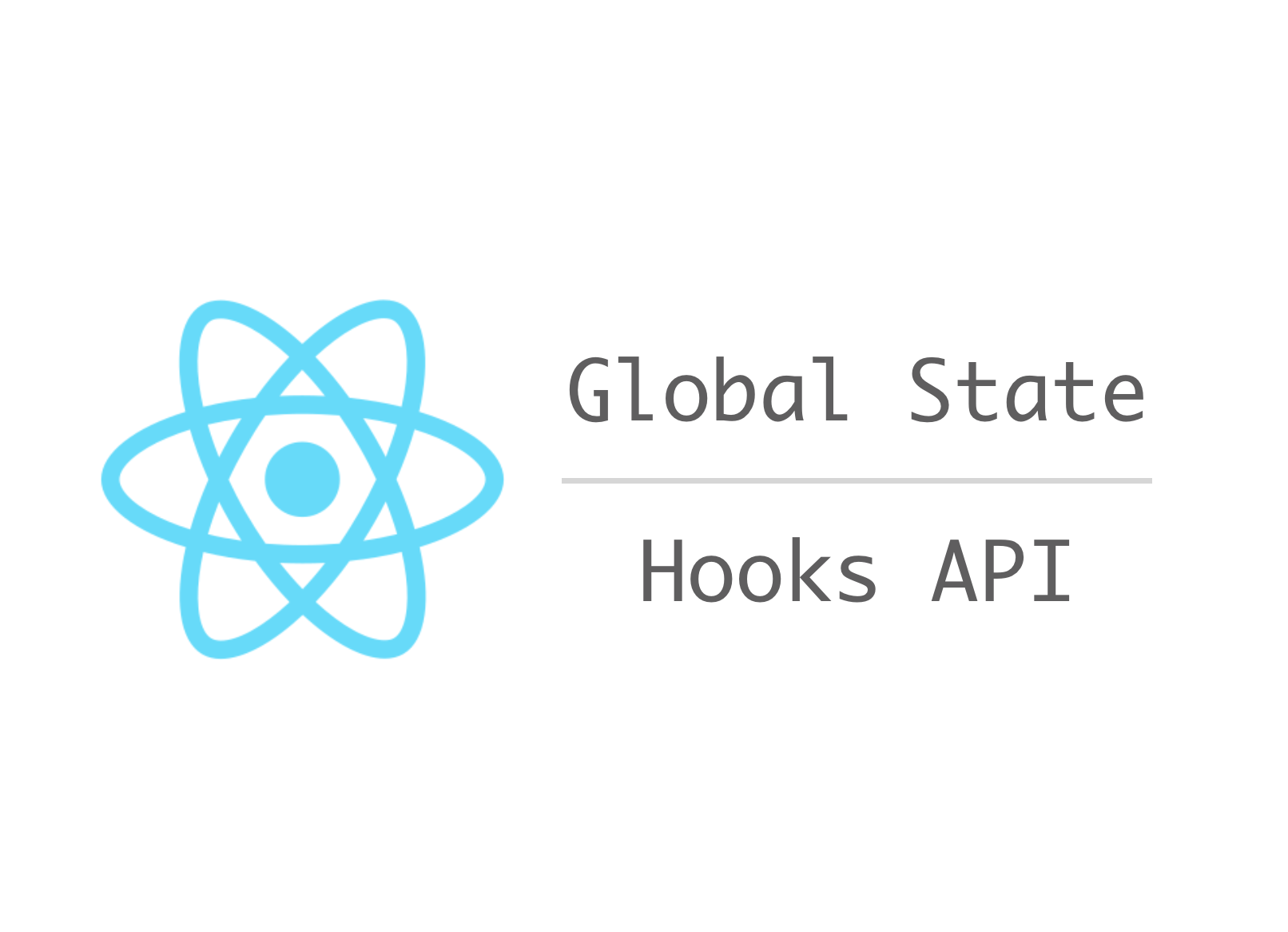 An alternative to React Redux by React Hooks API (For both JavaScript and TypeScript)