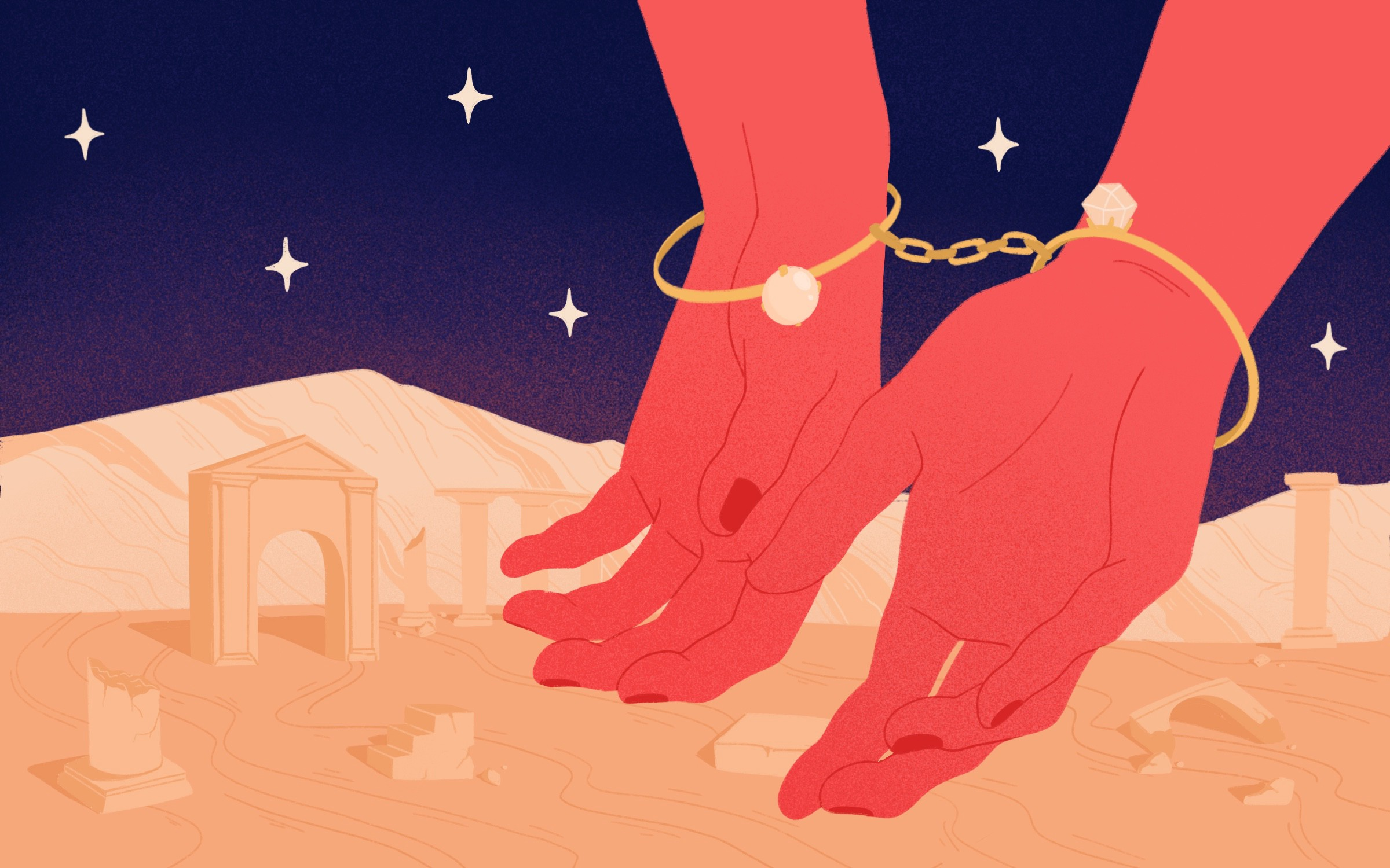 How Looking for the Perfect Wedding Ring Got Me Handcuffed in Lebanon