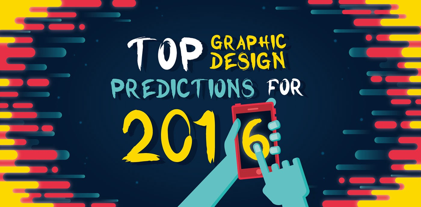 16 Web & Graphic Design Trends To Watch In 2016