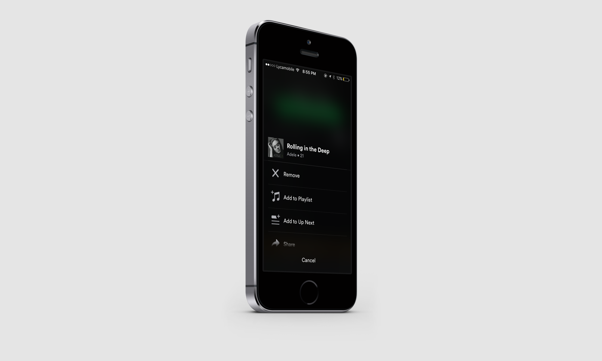 Add songs to spotify playlist from phone