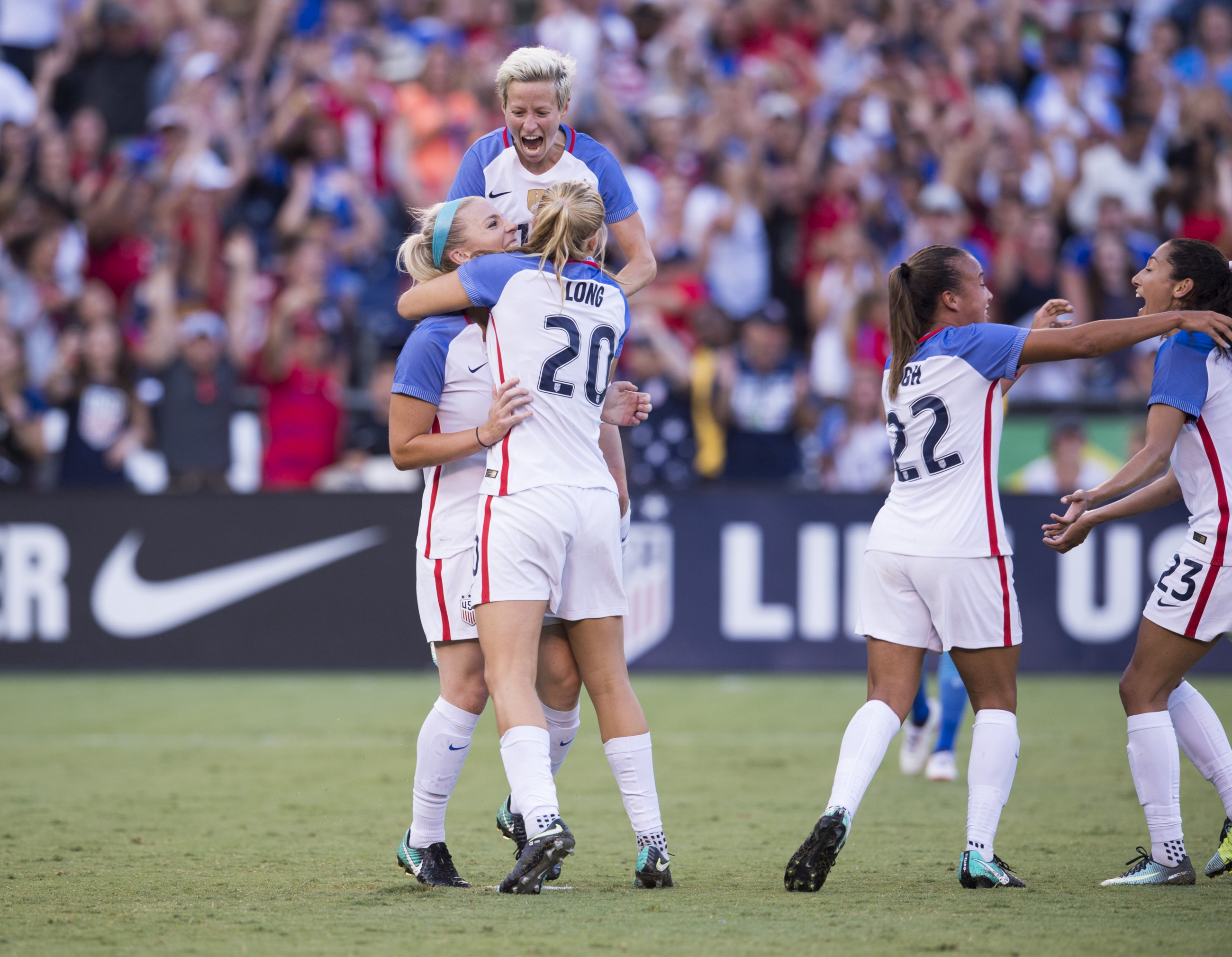 0517bafdbcc Ellis names 23-Player Roster for 2018 SheBelieves Cup featuring Seattle  Reign FC stars Megan Rapinoe and Allie Long