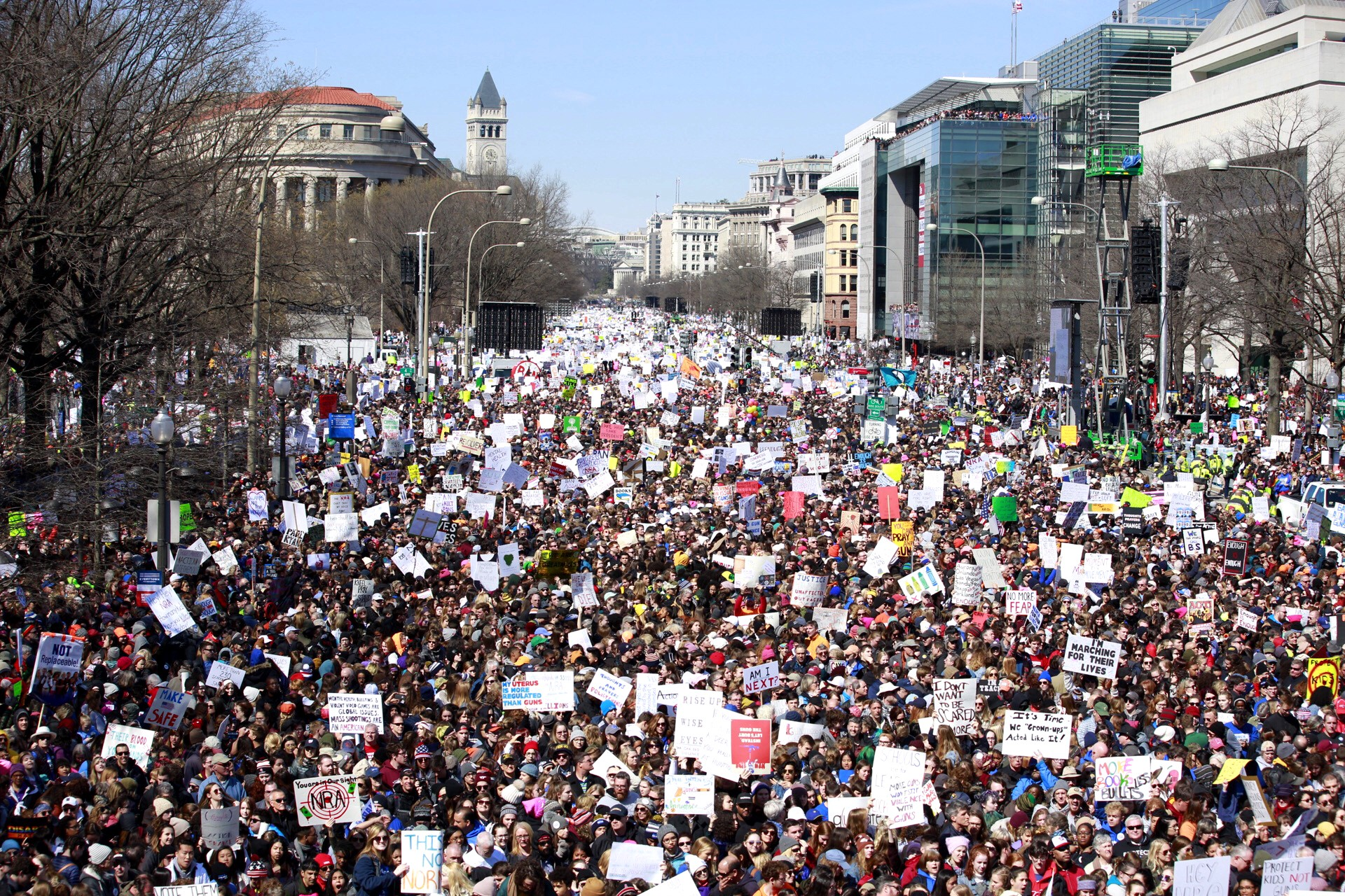7 Quotes From March For Our Lives On The Power Of Youth Voice