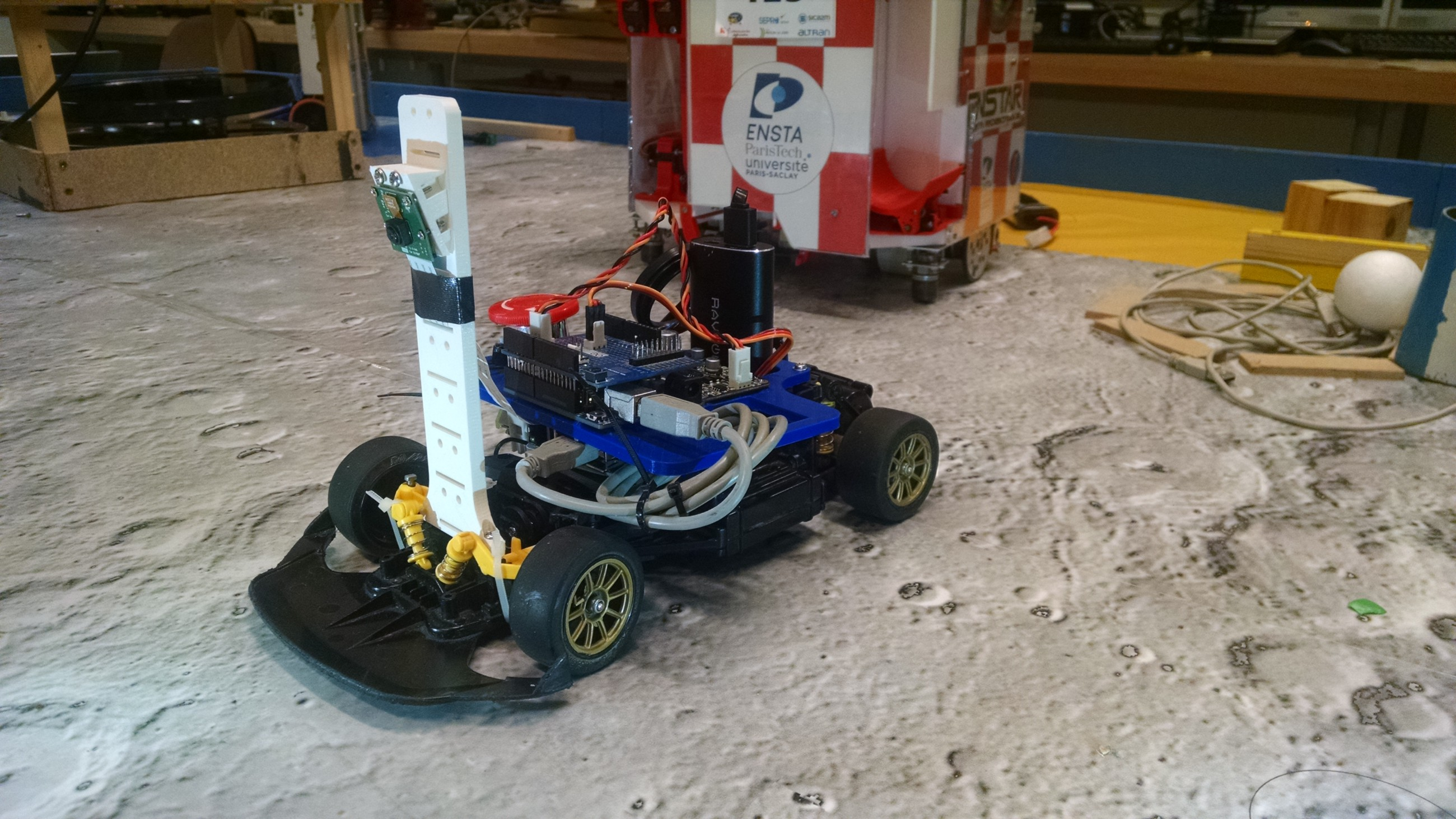 Autonomous Racing Robot With An Arduino A Raspberry Pi And Camera Controlled Toy Car Circuit Homemade Designs Just For You Competition In Toulouse Friend I Designed Programmed Powered By Uno
