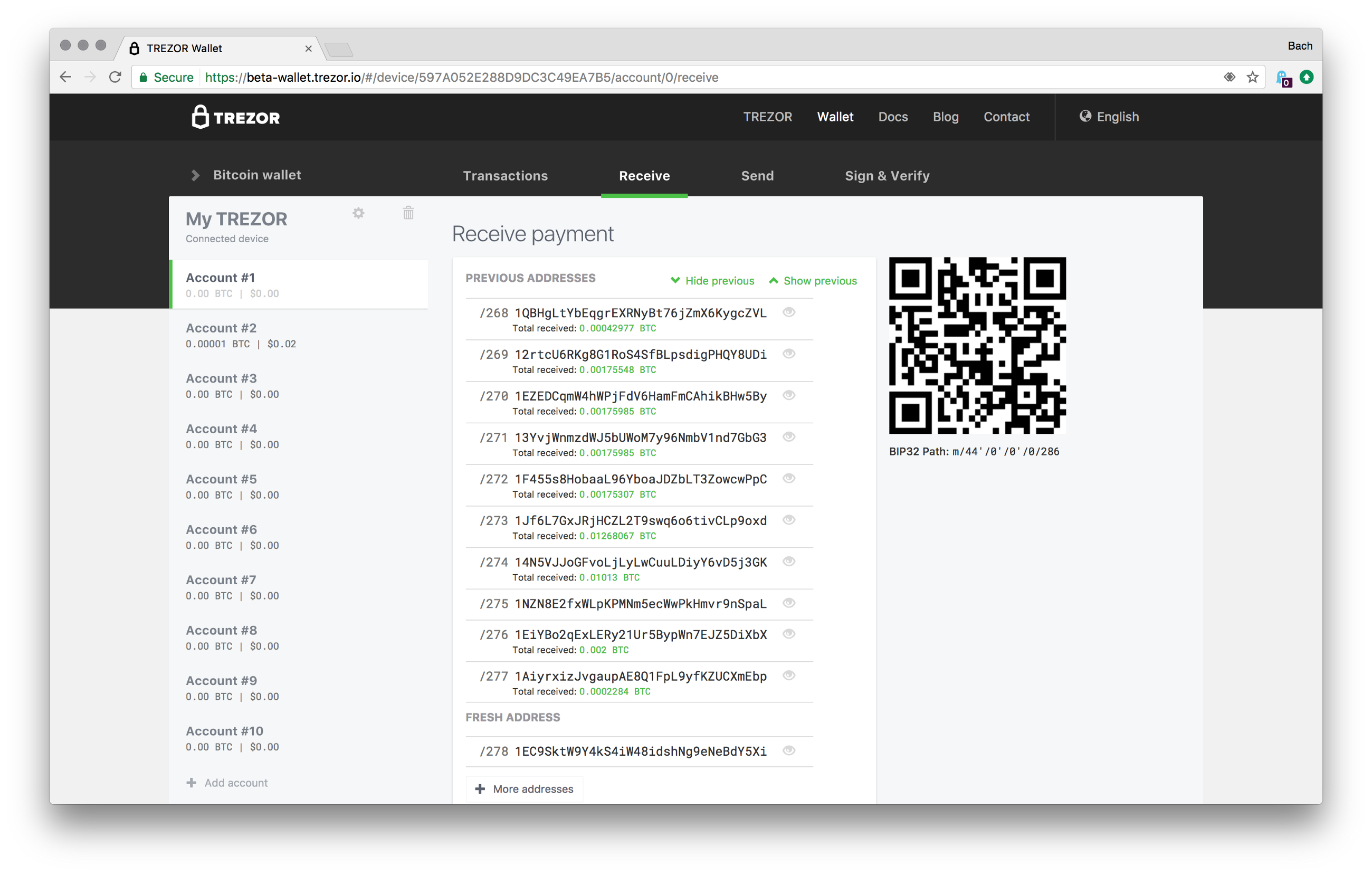 My Crypto Project How Does Trezor Generate A Wallet Address