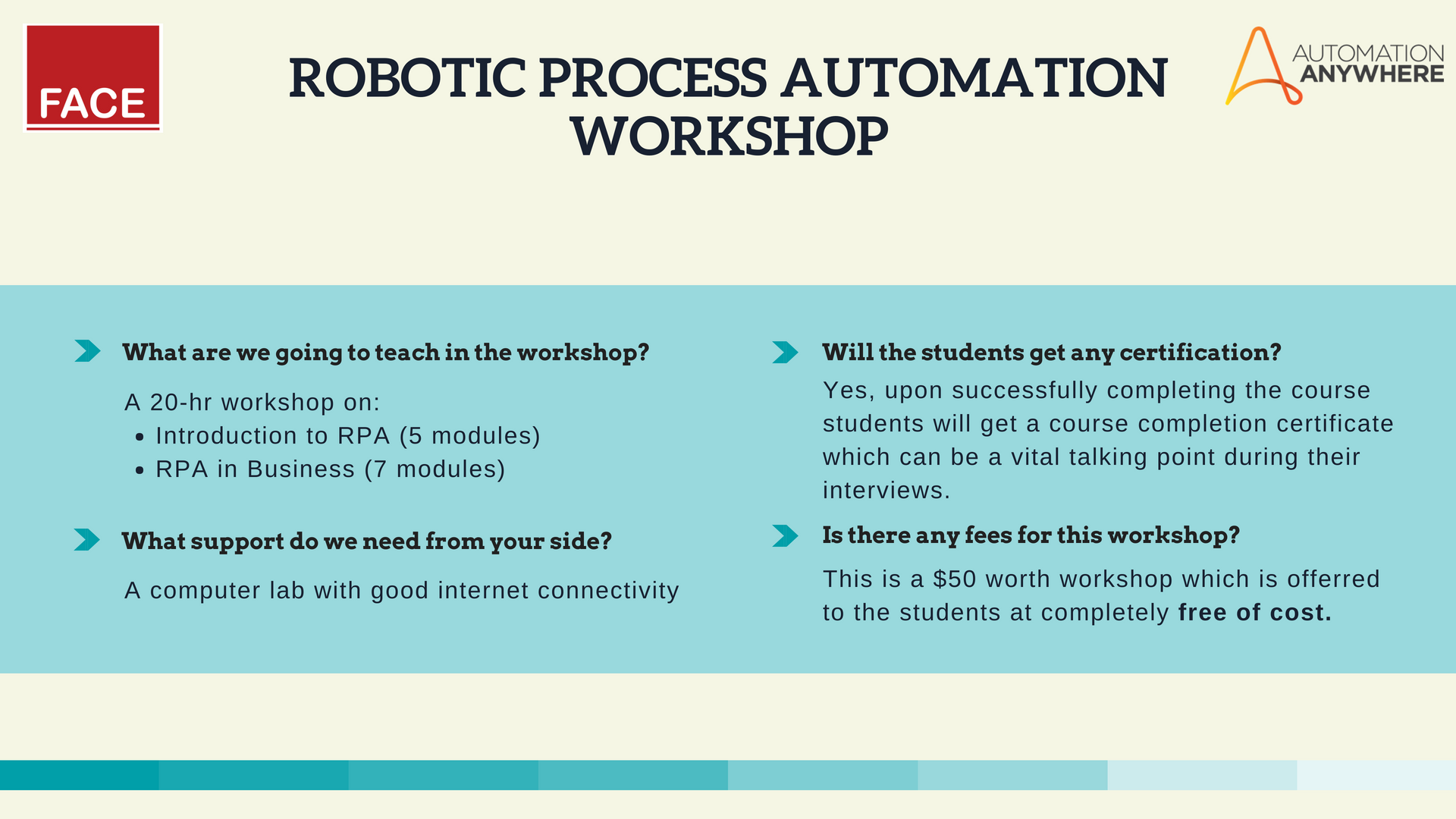 How Can You Train Your Students On Robotic Process Automation Rpa