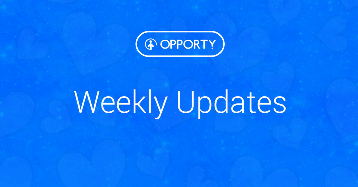Opporty Updates: April 5–18, 2018 – Opporty