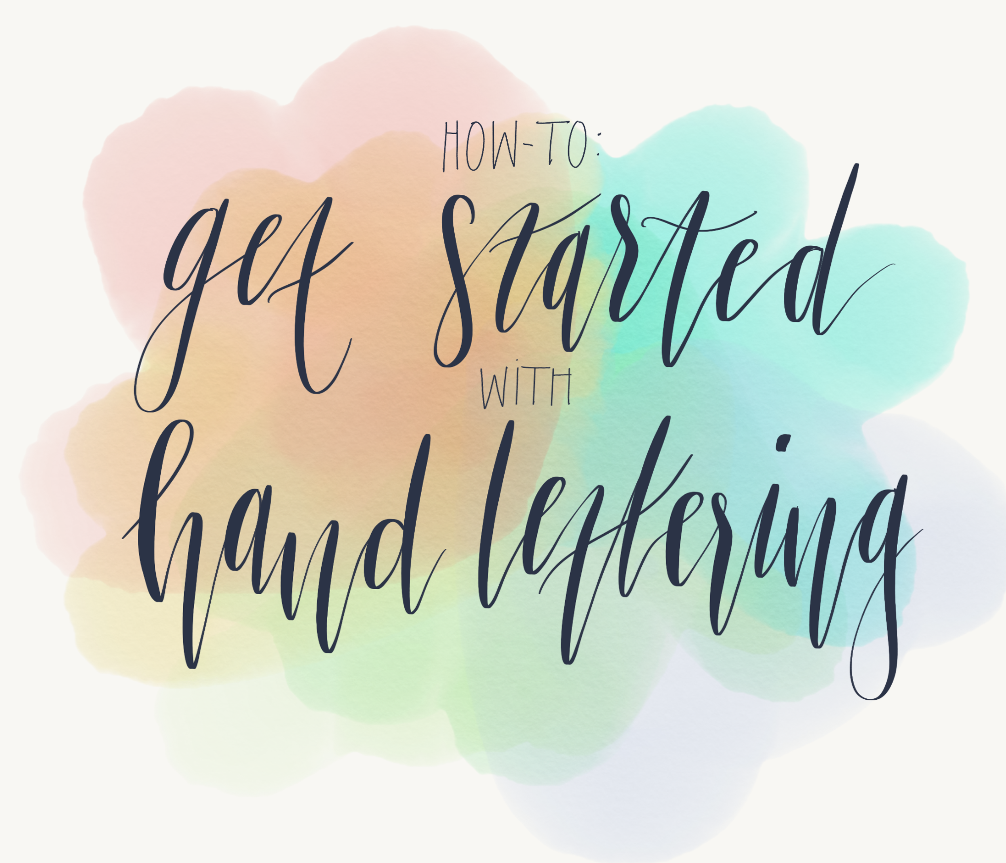 b54c68ece96 How to get started with hand-lettering – Cat Noone – Medium
