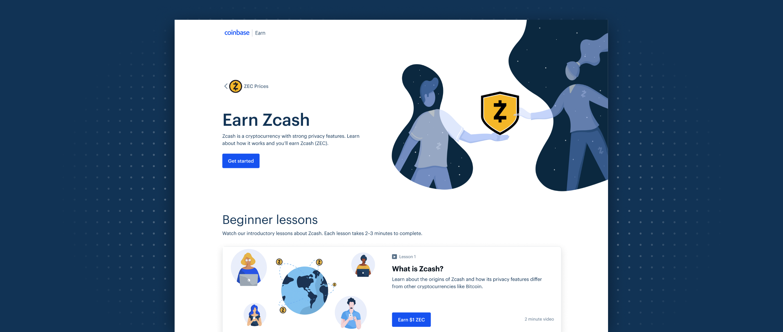 dbbfa92ca9 Earn Zcash while learning about blockchain privacy – The Coinbase Blog
