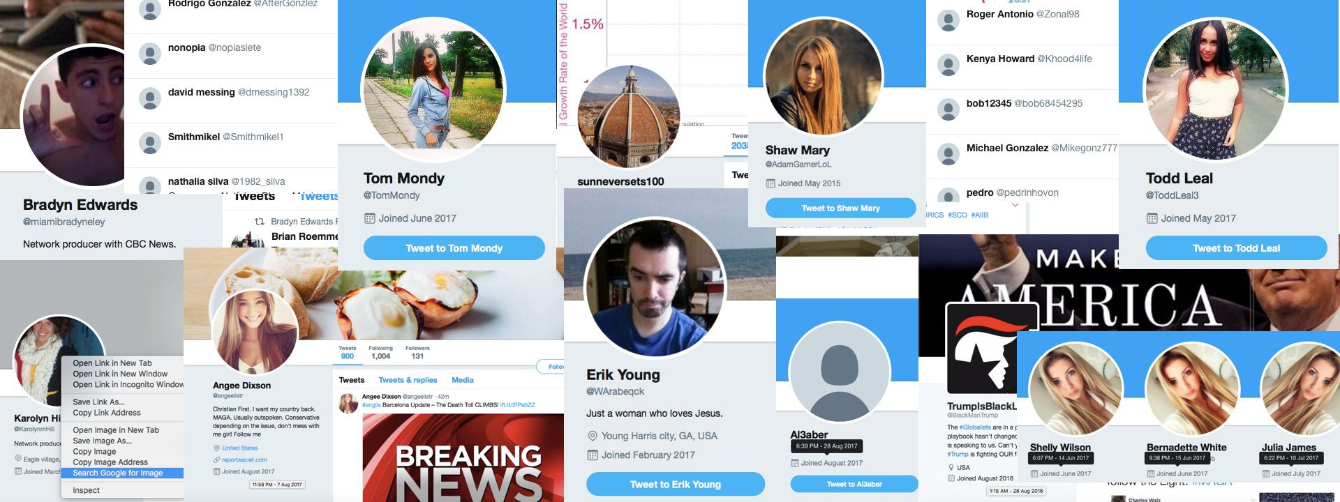 """a667401f7a70 """"Bots"""" — automated social media accounts which pose as real people — have a  huge presence on platforms such as Twitter. They number in the millions  ..."""