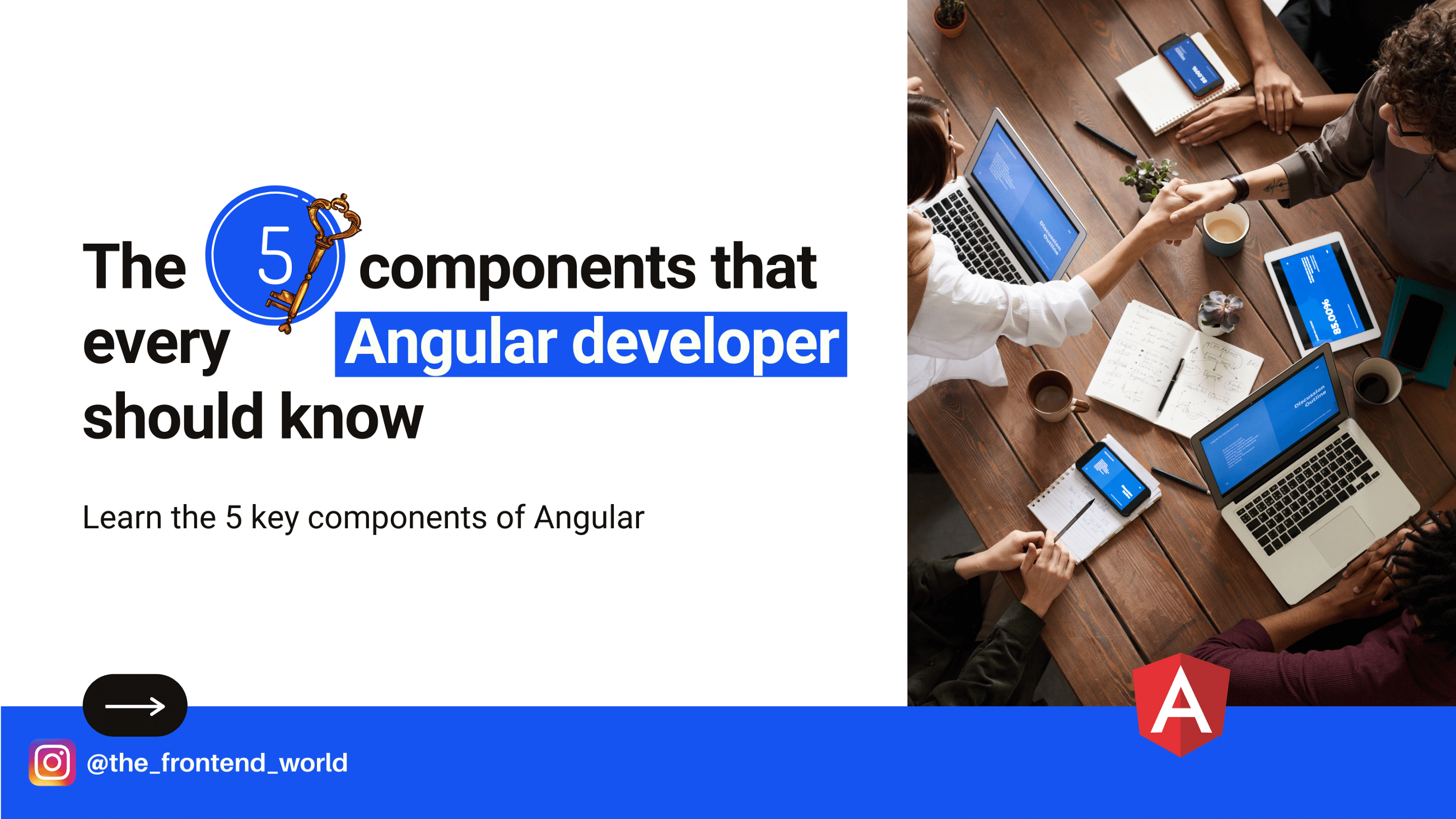 5 Key Components that Every Angular Developer Should Know