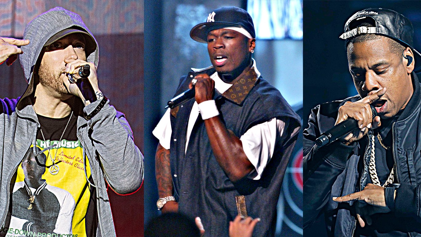 4e77ae9df24 The Ten Greatest Rappers of All-Time (From a Purely Commercial Perspective)