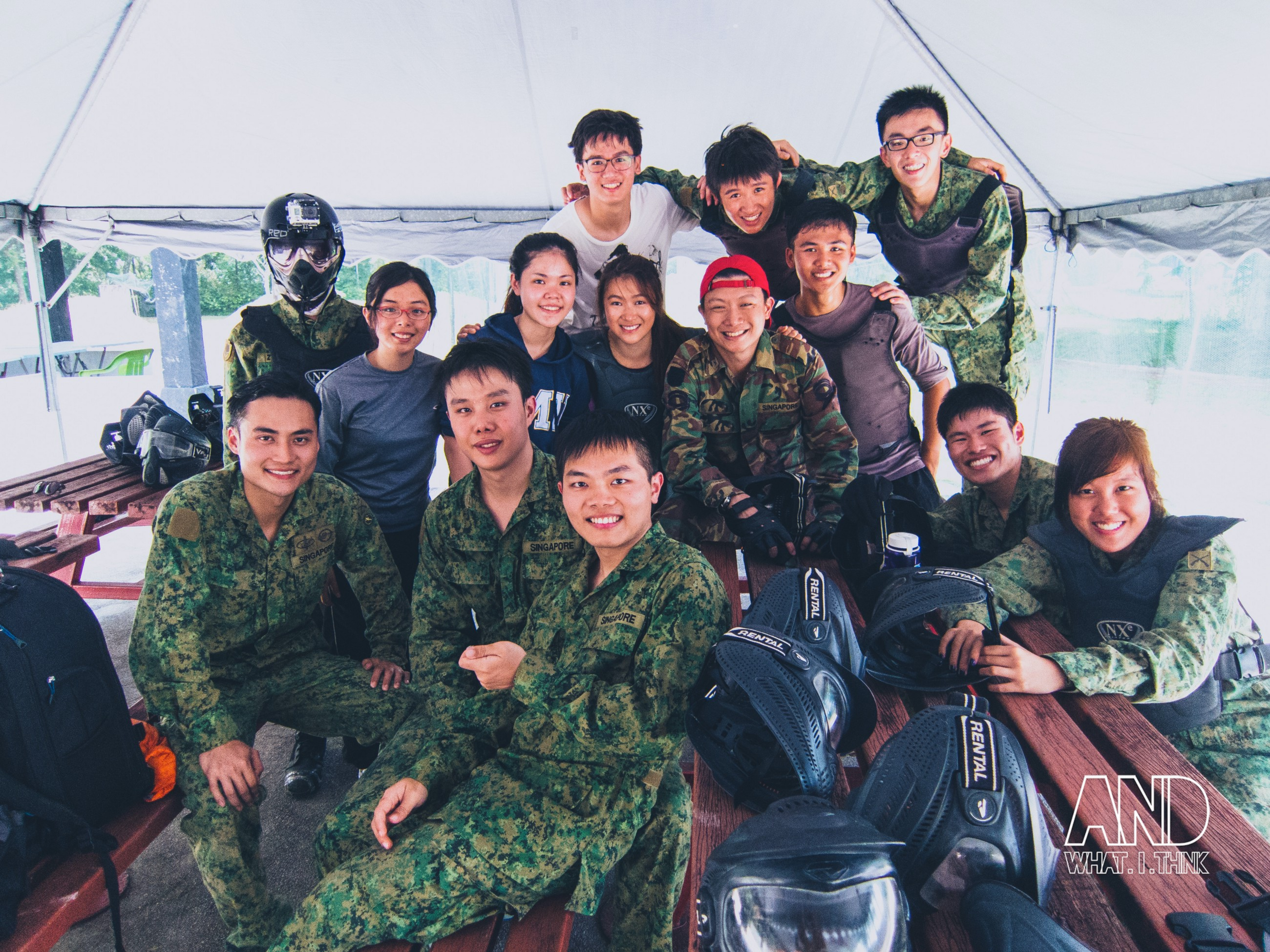 2019 year for lady- Singapore paintball what to wear